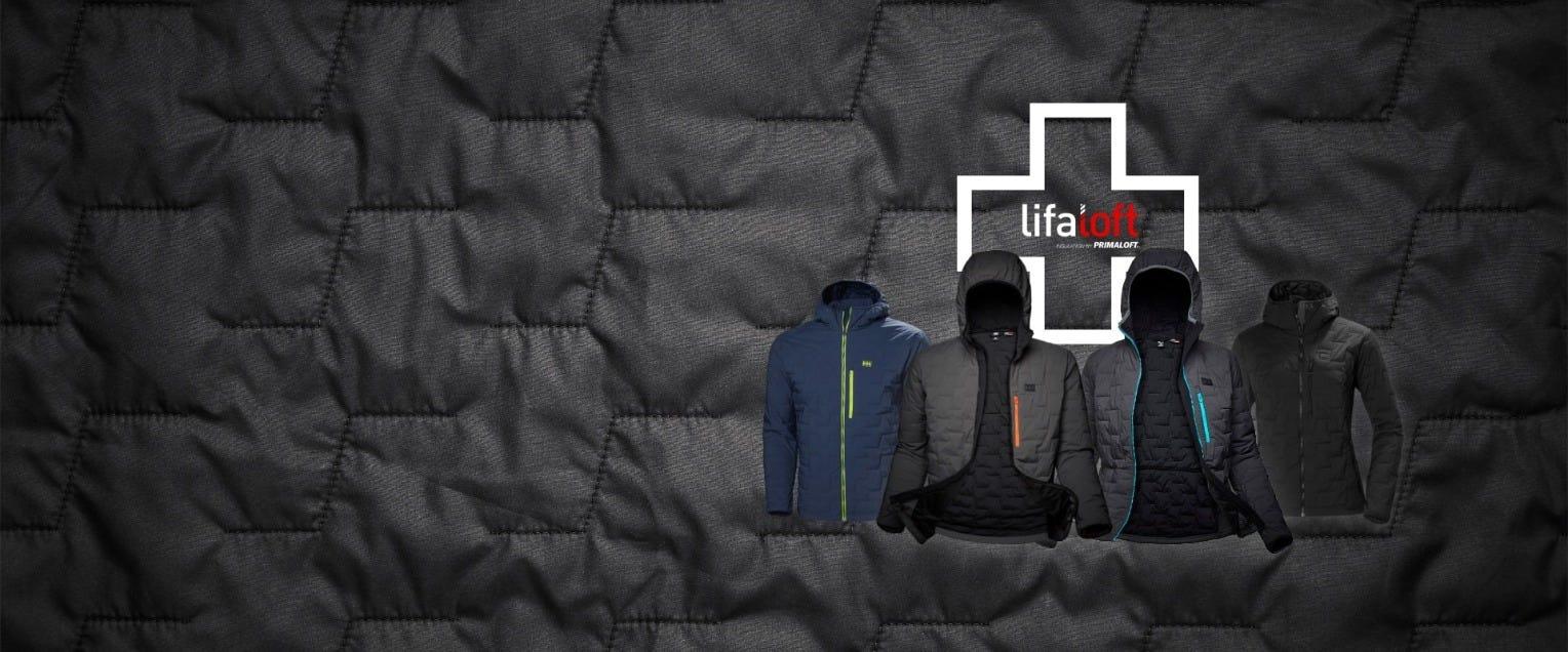 A range of lifaloft jackets