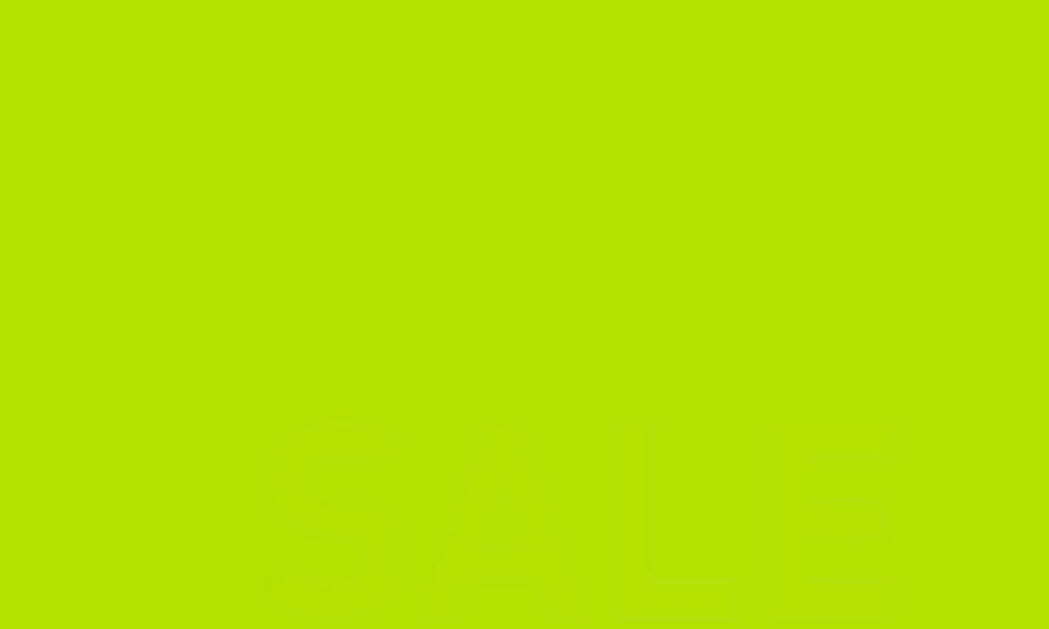 BRIGHT GREEN SALE BANNER