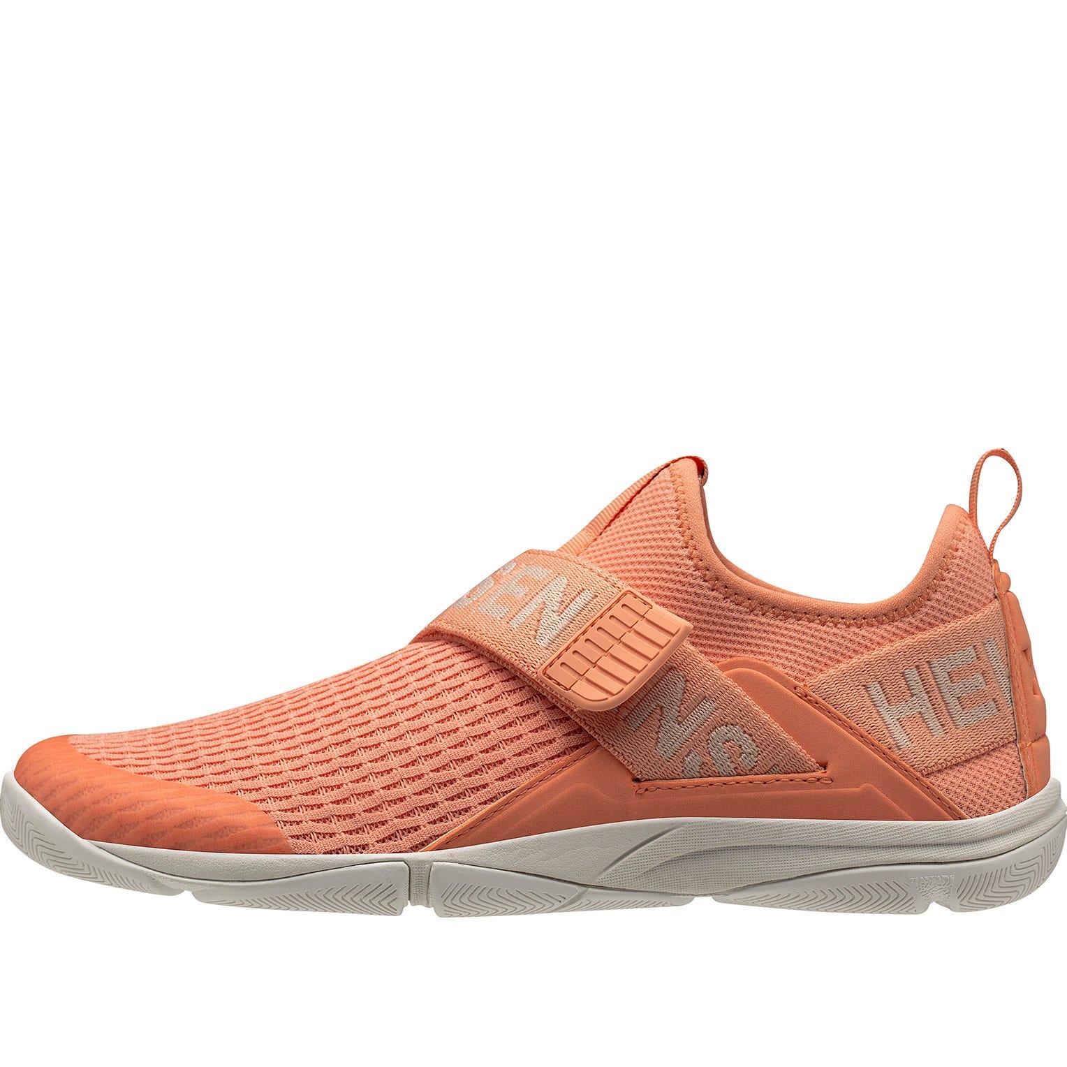Helly Hansen Womens Hydromoc Slipon Shoe Sailing Orange 7
