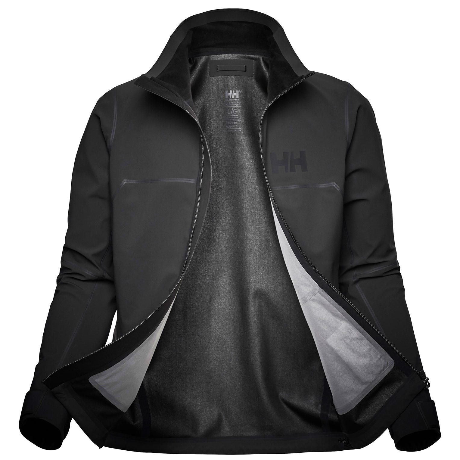 Helly Hansen Mens Foil Pro Softshell Waterproof Jacket Grey XXL