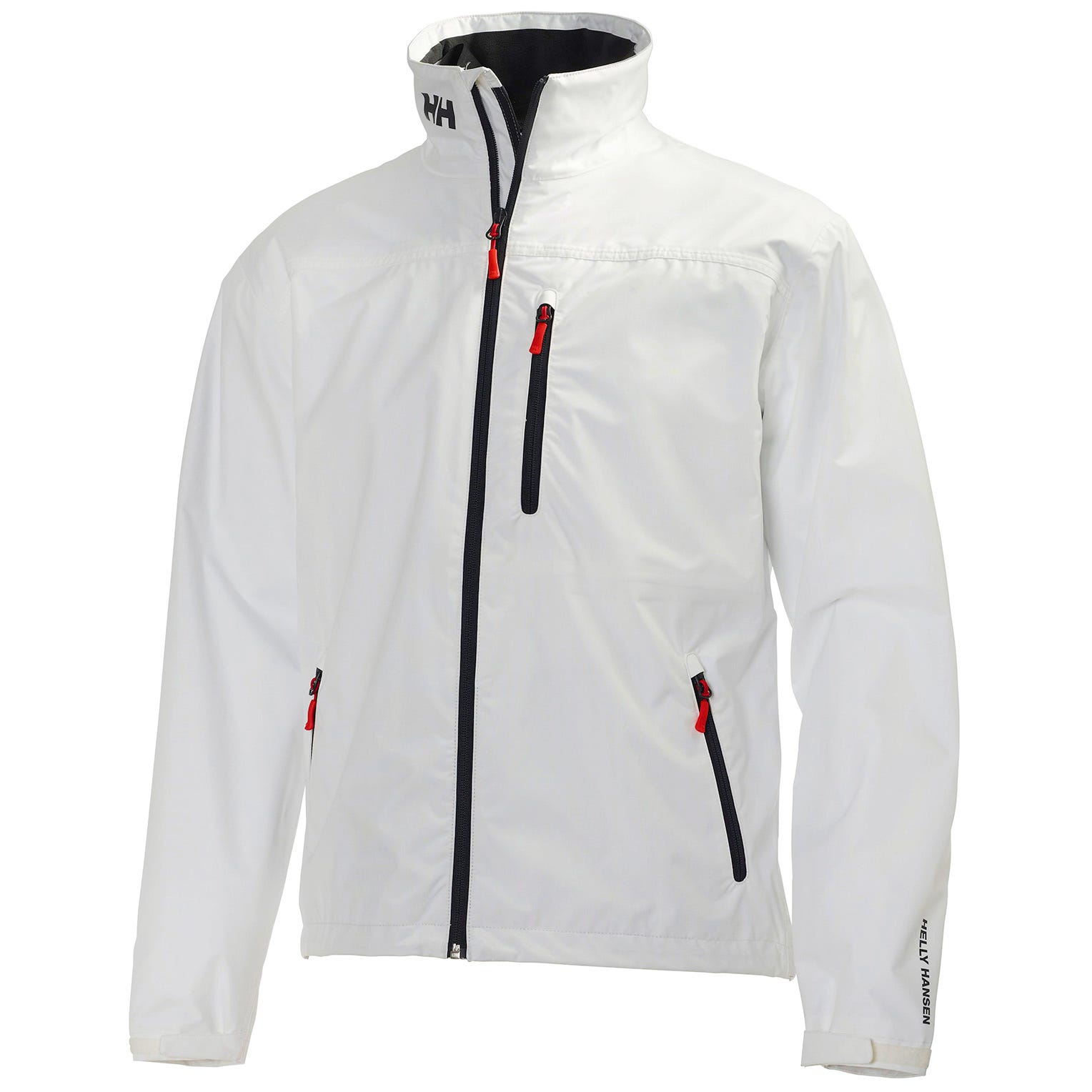 Helly Hansen Mens Crew Sailing Jacket White XS