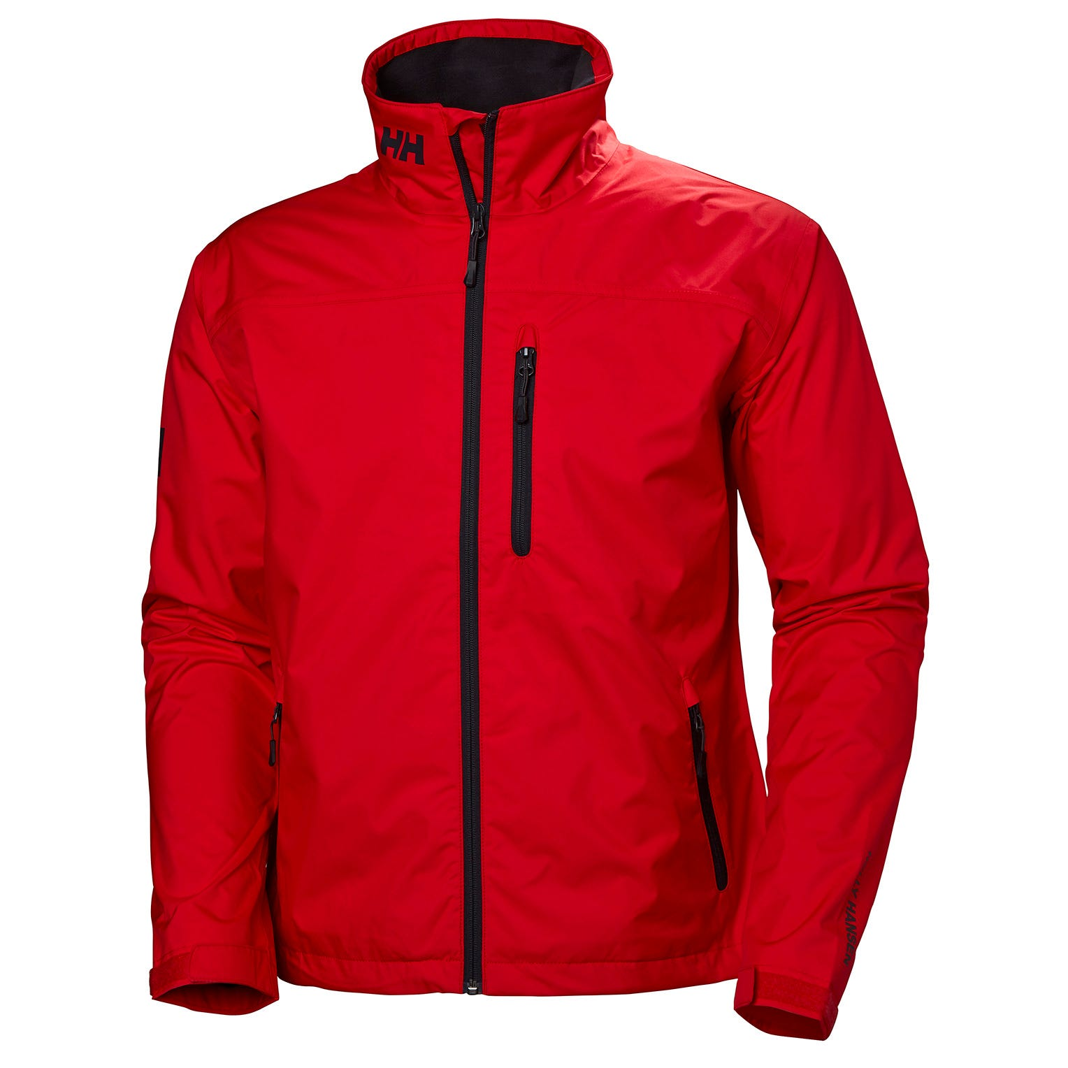 Helly Hansen Mens Crew Sailing Jacket Red S