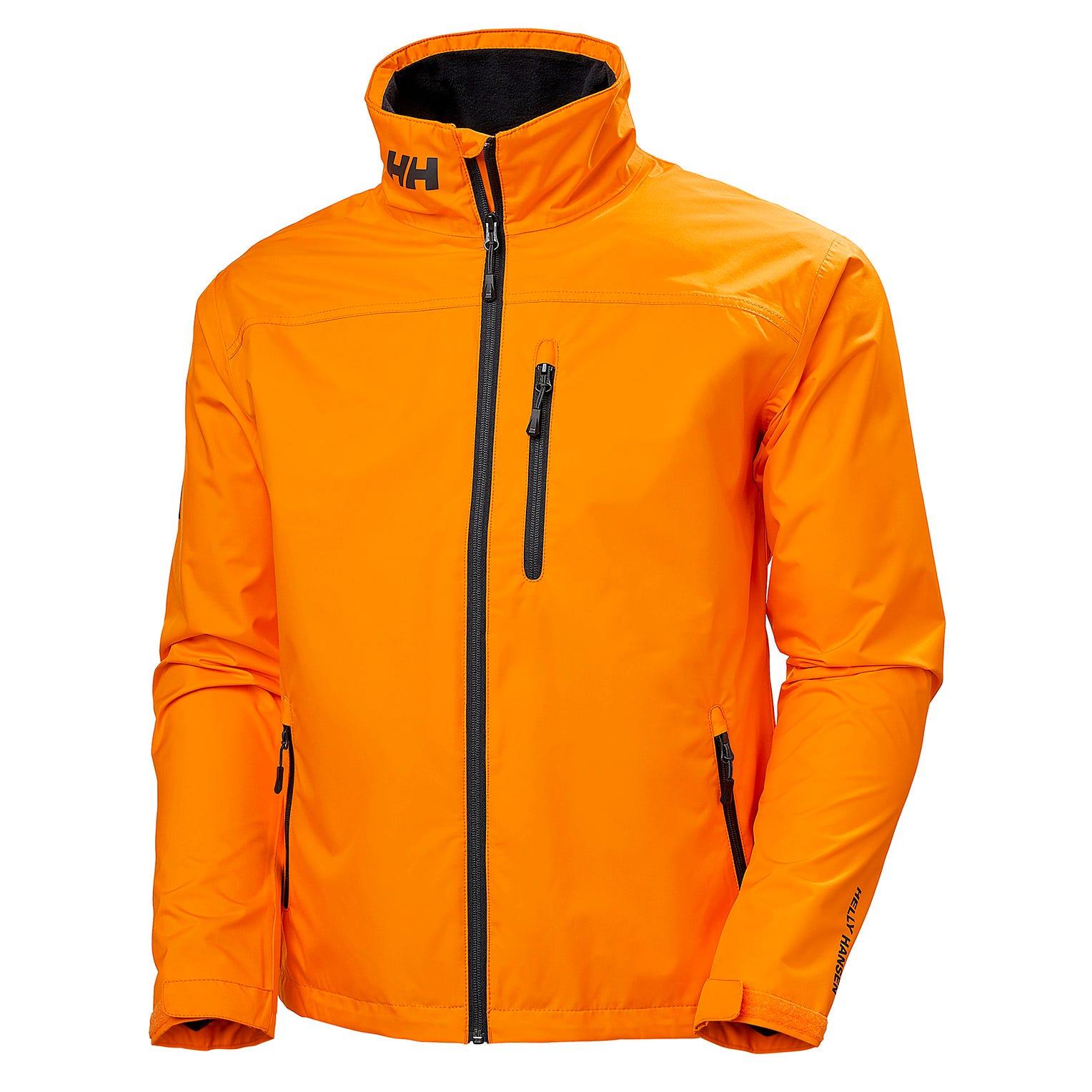 Helly Hansen Mens Sailing Jacket Orange XL