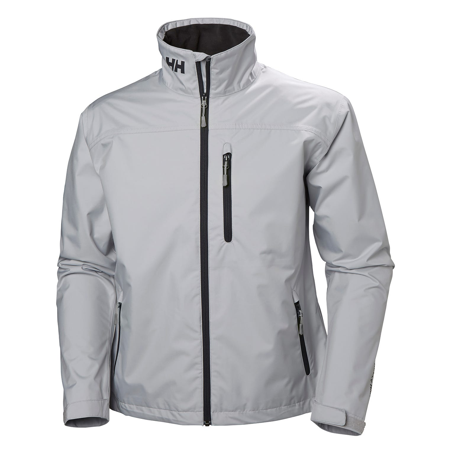 Helly Hansen Mens Crew Sailing Jacket Grey L