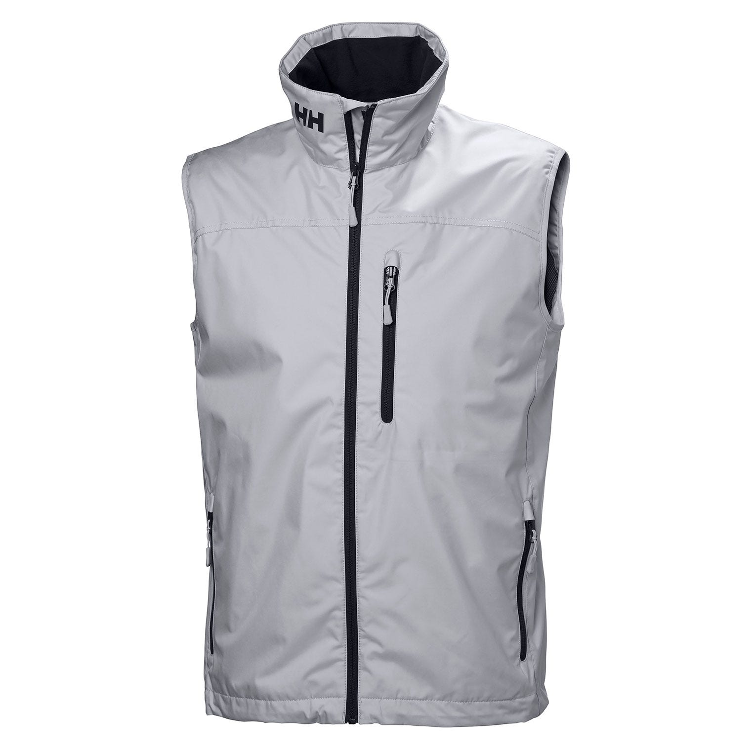 Helly Hansen Mens Crew Vest Sailing Jacket Grey XXL