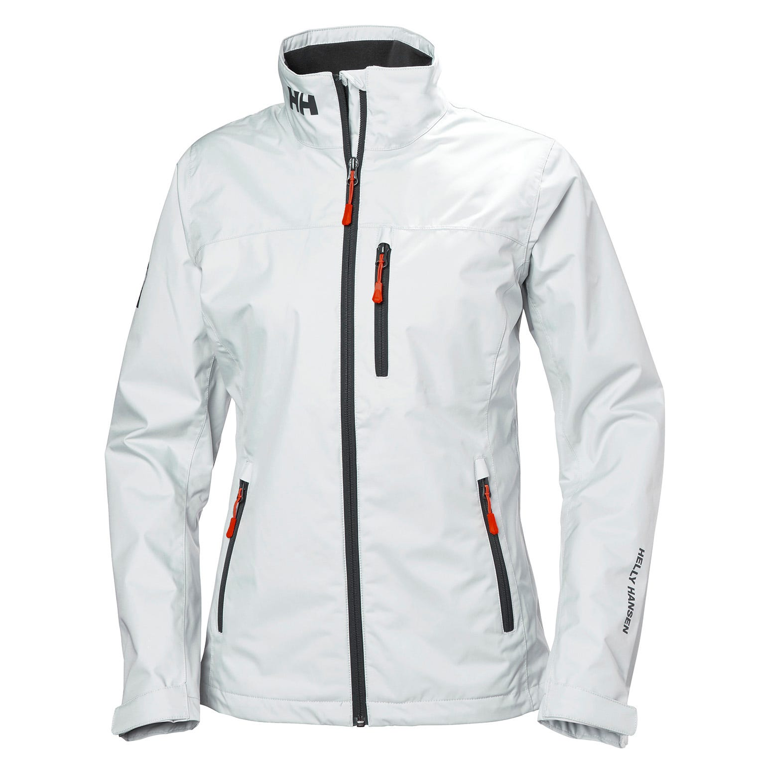 Helly Hansen Womens Crew Midlayer Sailing Jacket White L