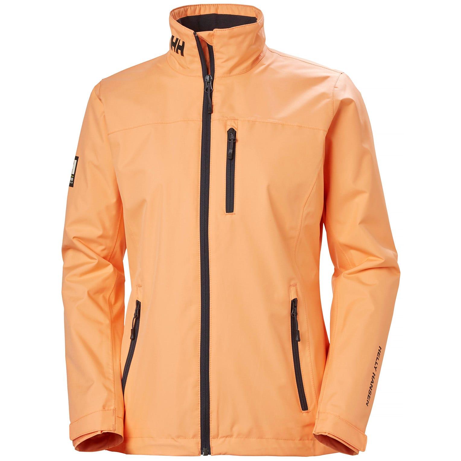 Helly Hansen Womens Sailing Jacket Orange L