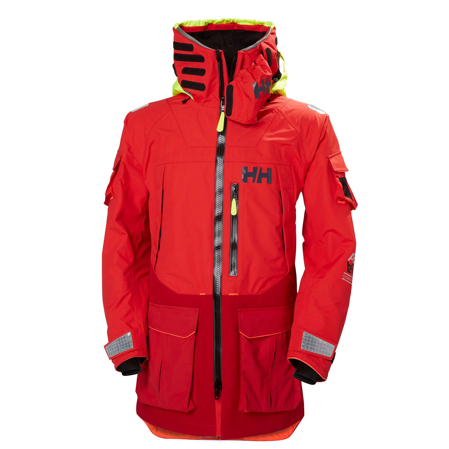 Helly Hansen Ægir Ocean Sailing Jacket Red L