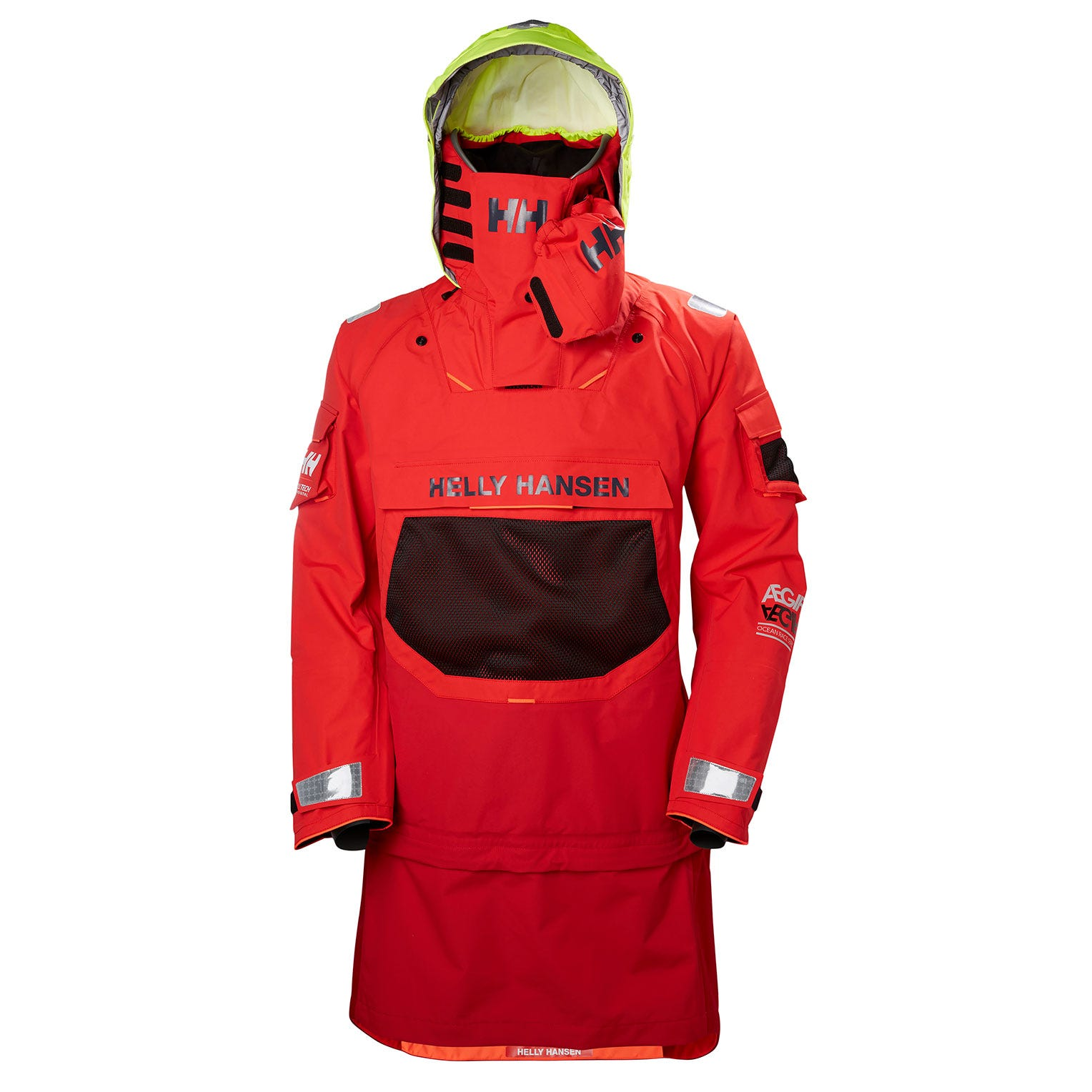 Helly Hansen Ægir Ocean Dry Top Sailing Jacket Red XS