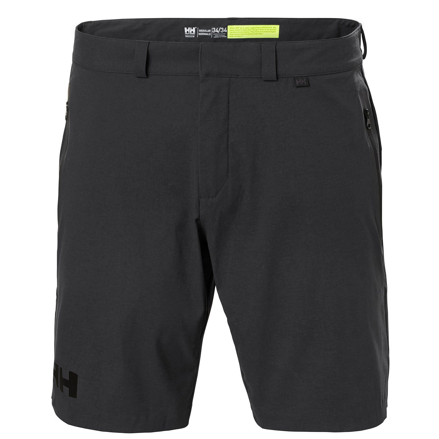 Helly Hansen Mens Hp Racing Shorts Sailing Trouser Black 42