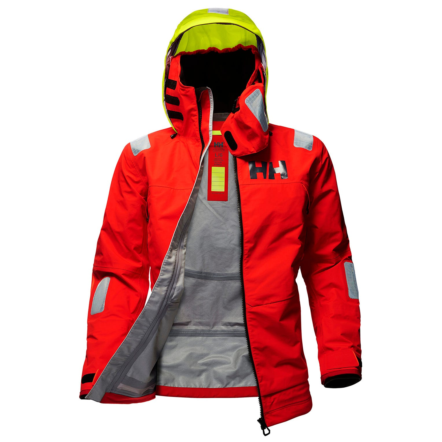 Mens Ægir Race Sailing Jacket | Uk Helly Hansen Mens Red S