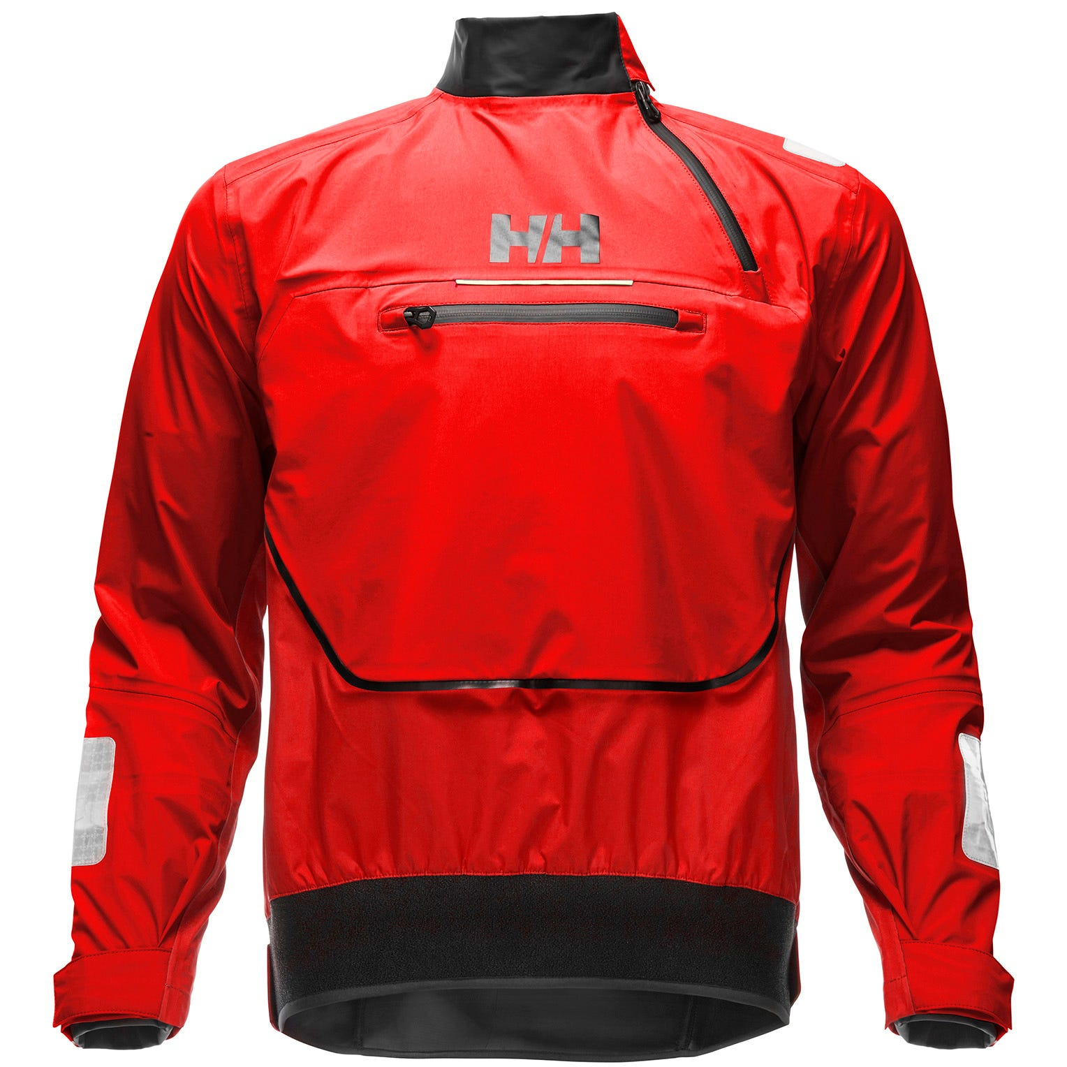 Helly Hansen Mens Hp Foil Smock Top Sailing Jacket Red M