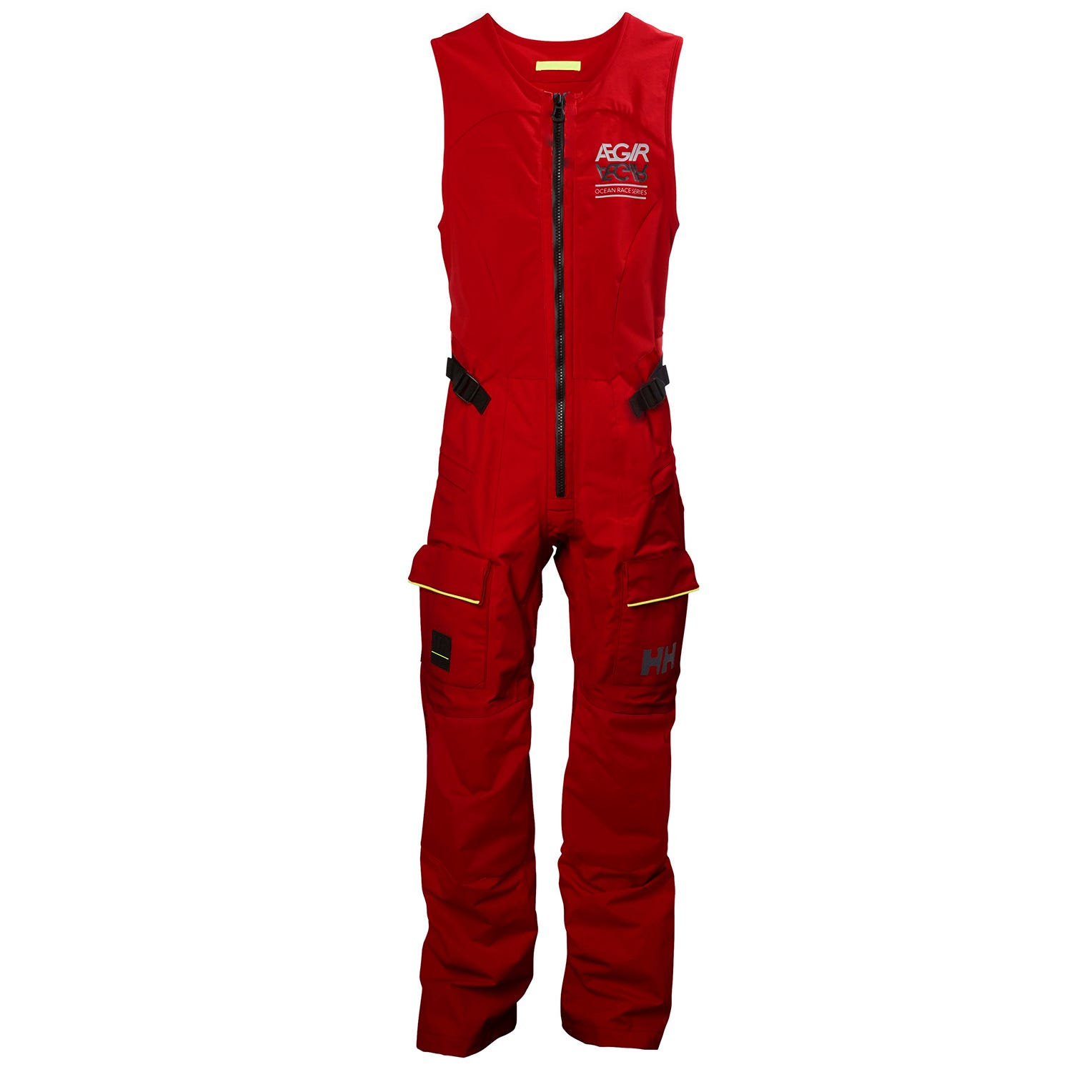 Helly Hansen Womens Aegir Race Sailing Salopette Red S