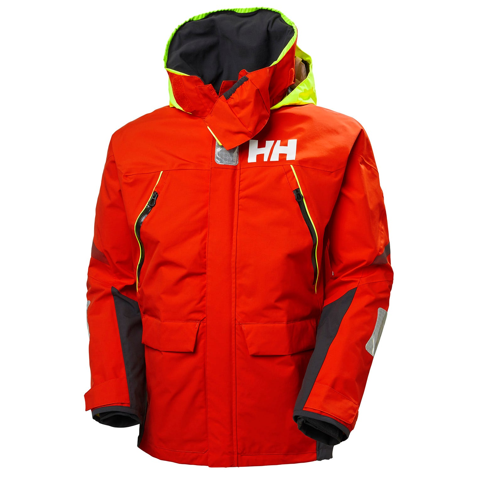 Helly Hansen Mens Sailing Jacket Red L