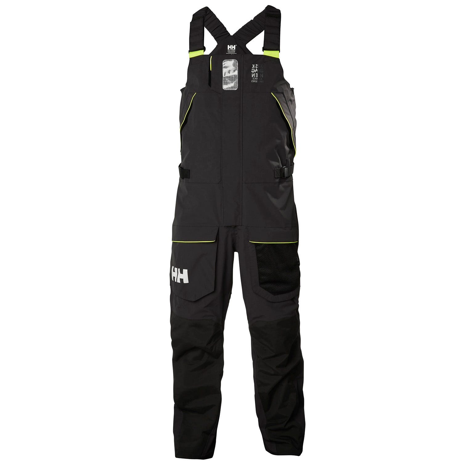 Helly Hansen Mens Skagen Offshore Bib Sailing Trouser Black S