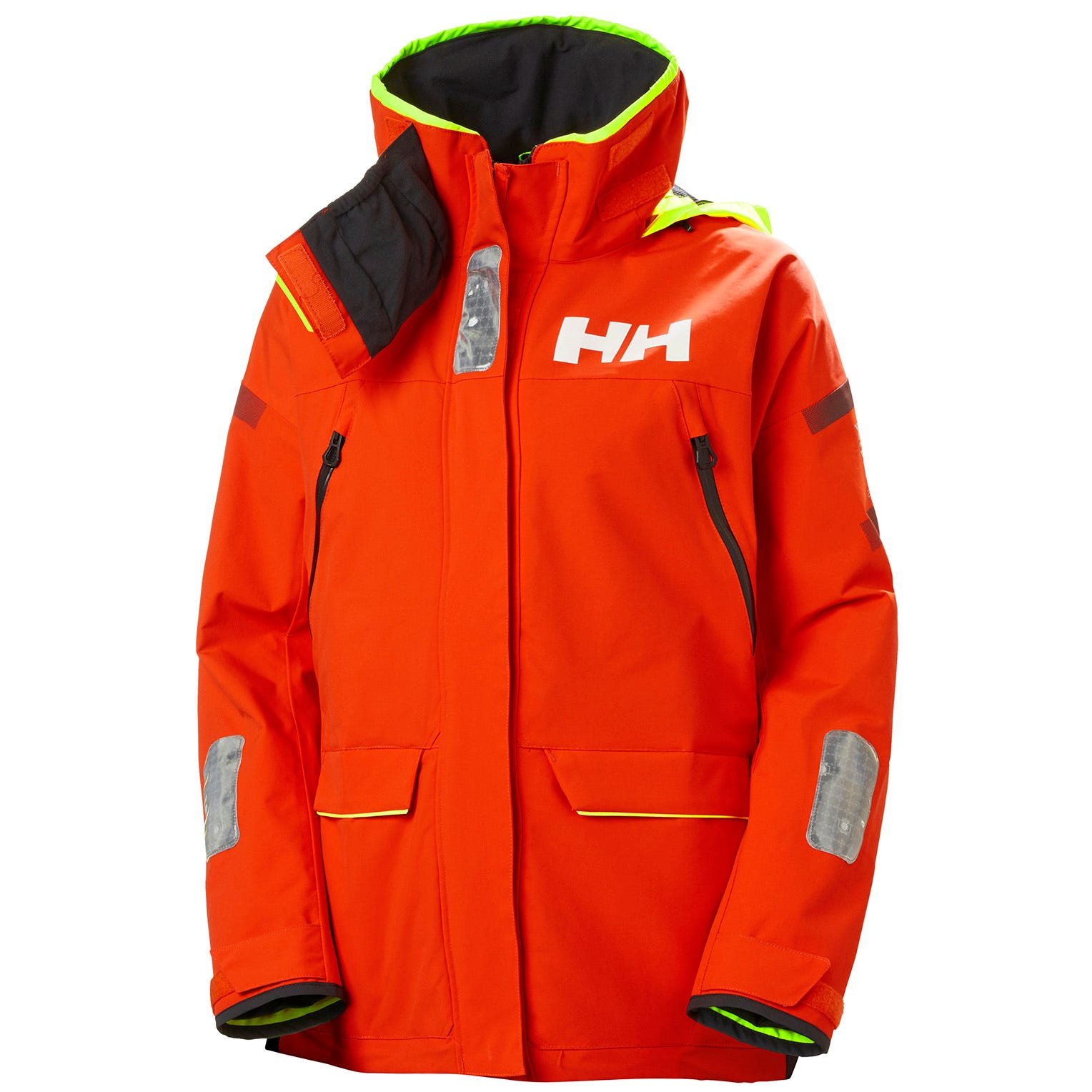 Helly Hansen Womens Skagen Offshore Sailing Jacket Red XL