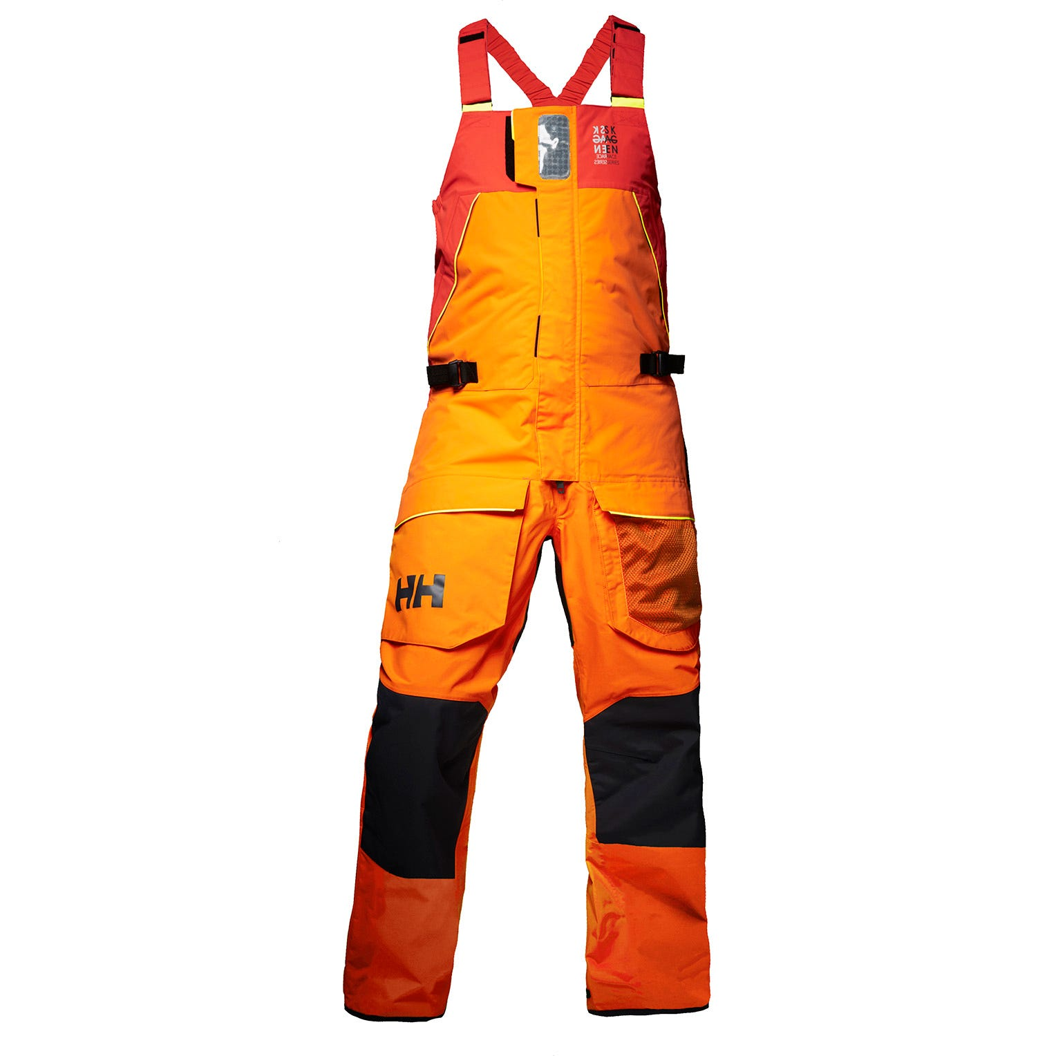 Helly Hansen Womens Skagen Offshore Bib Sailing Trouser Orange M