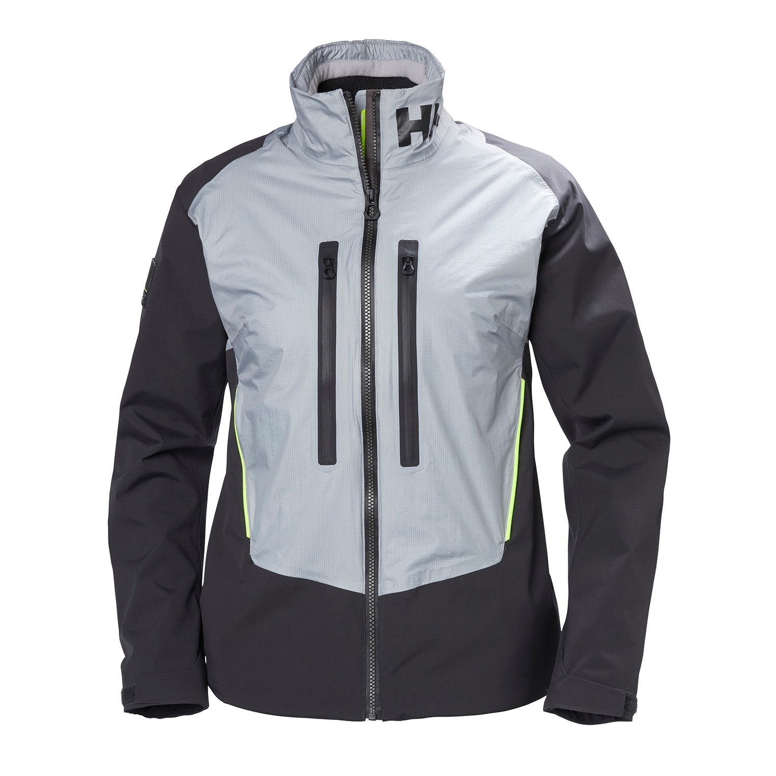 Helly Hansen Womens Aegir H2flow Sailing Jacket Grey L
