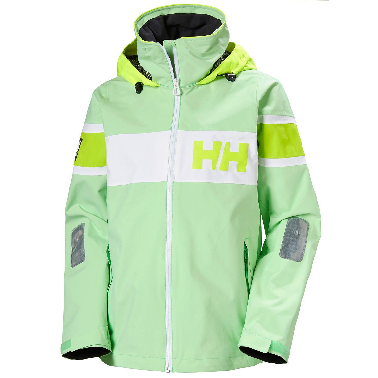 Helly Hansen Womens Sailing Jacket Green XS