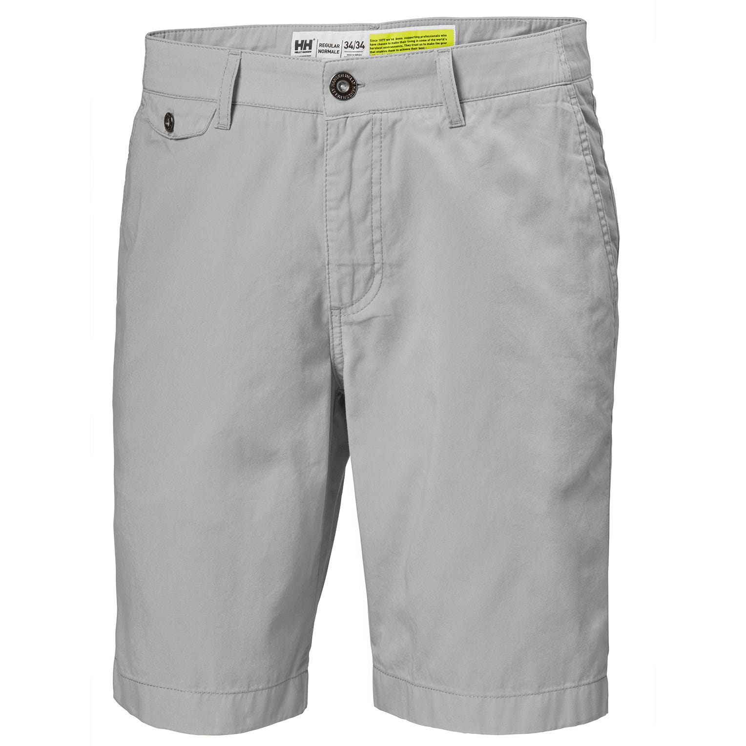 Helly Hansen Mens Bermuda Shorts 10 Sailing Trouser Grey 34