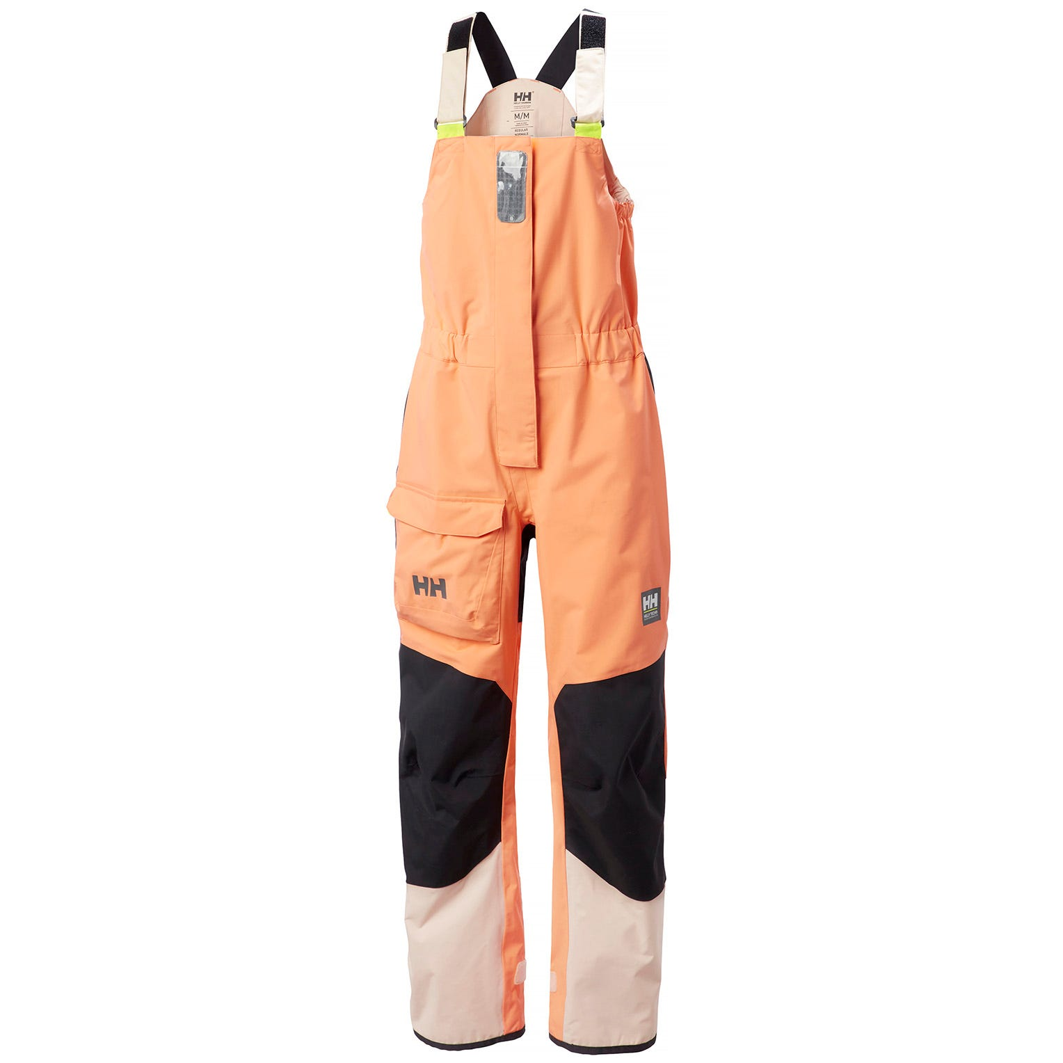 Helly Hansen Womens Pier Bib Sailing Trouser Orange XL