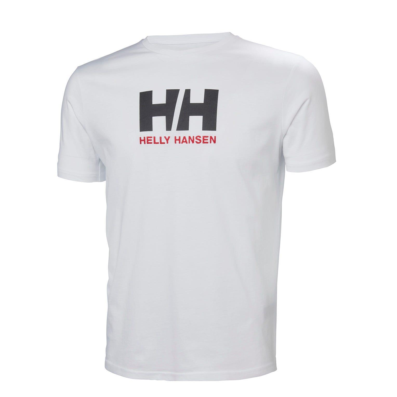Helly Hansen Mens Hh Logo Tshirt White Xxl