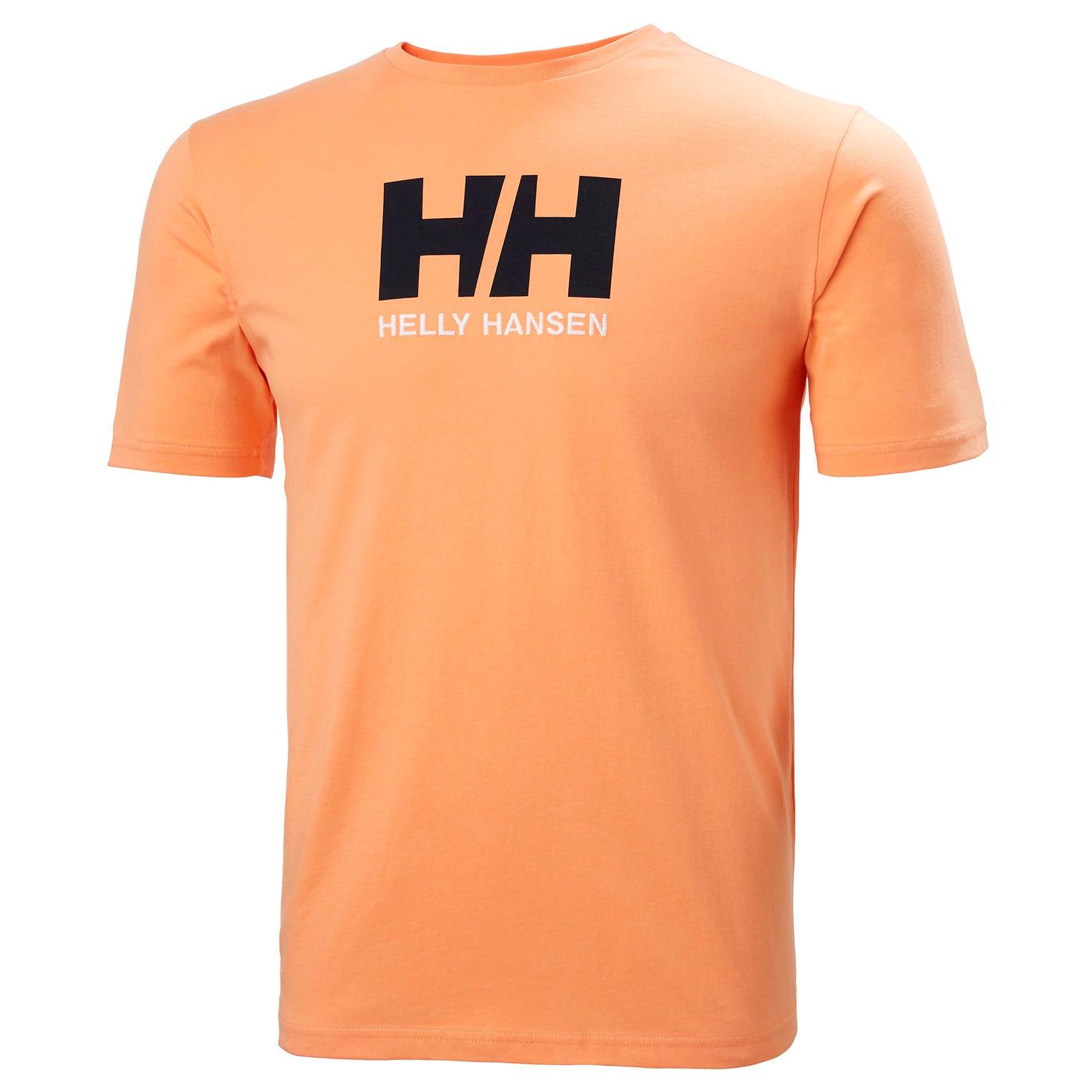 Helly Hansen Mens Hh Logo Tshirt Orange L