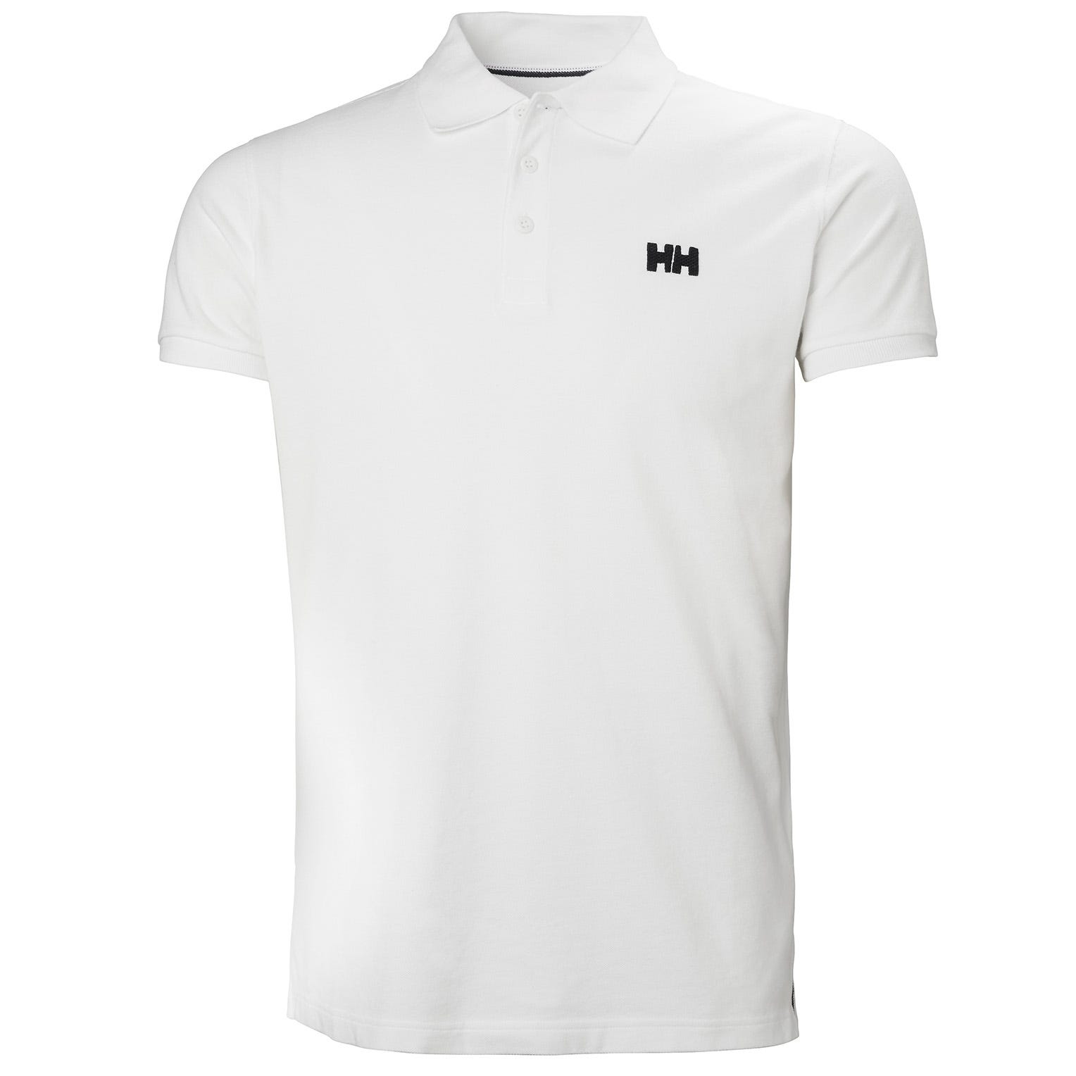 Mens Transat Cotton Short-sleeve Polo Shirt | Helly Hansen Mens White XL