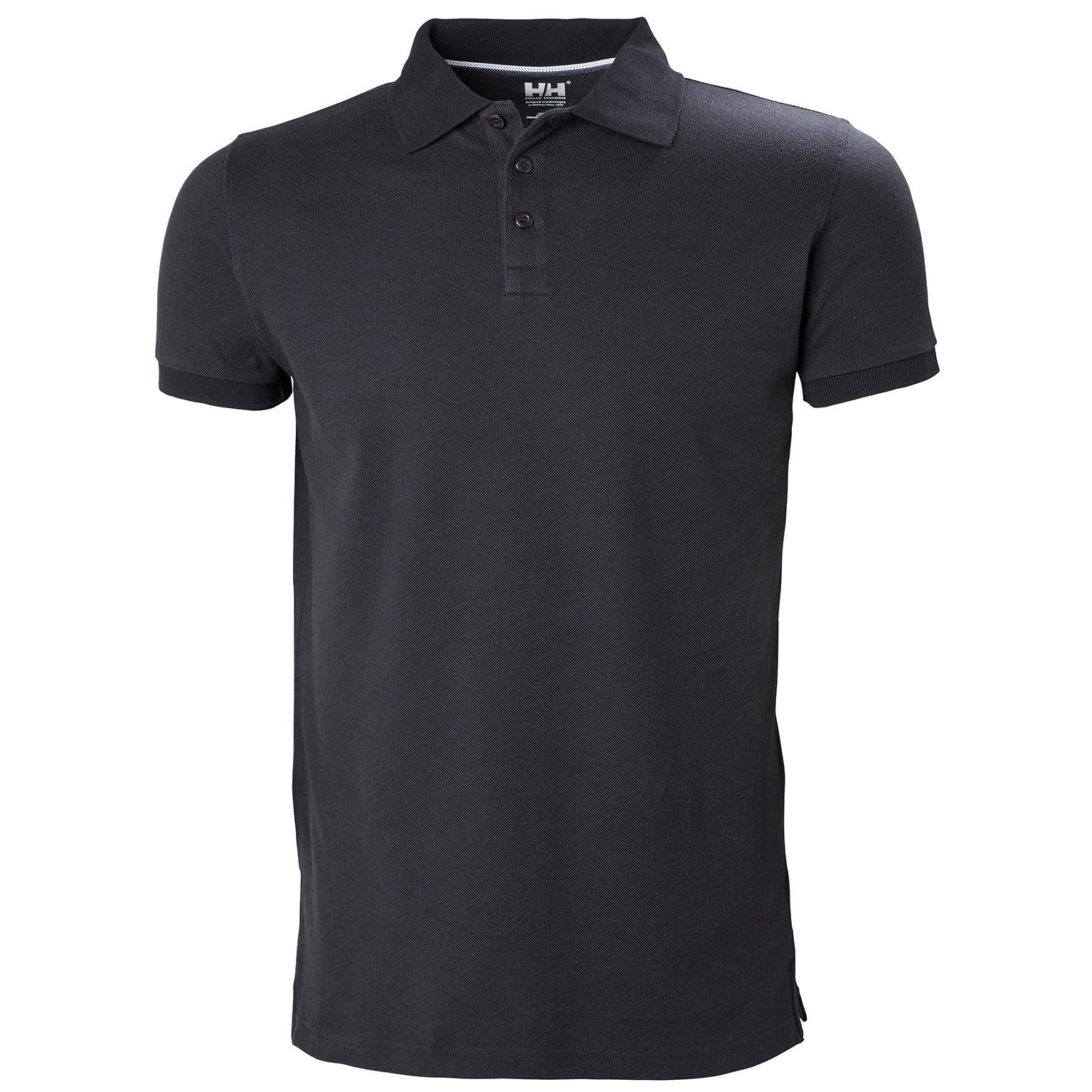 Mens Crew Cotton Pique Quick-dry Polo Shirt | Helly Hansen Mens Performance Wicking Navy XS