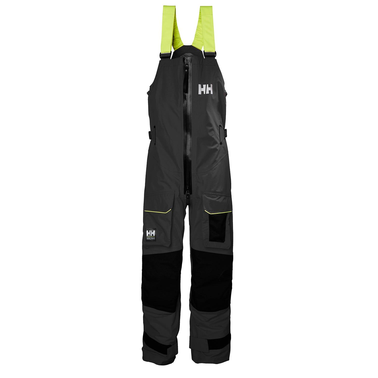 Helly Hansen Mens Aegir Ocean Durable Trousers Black XXL
