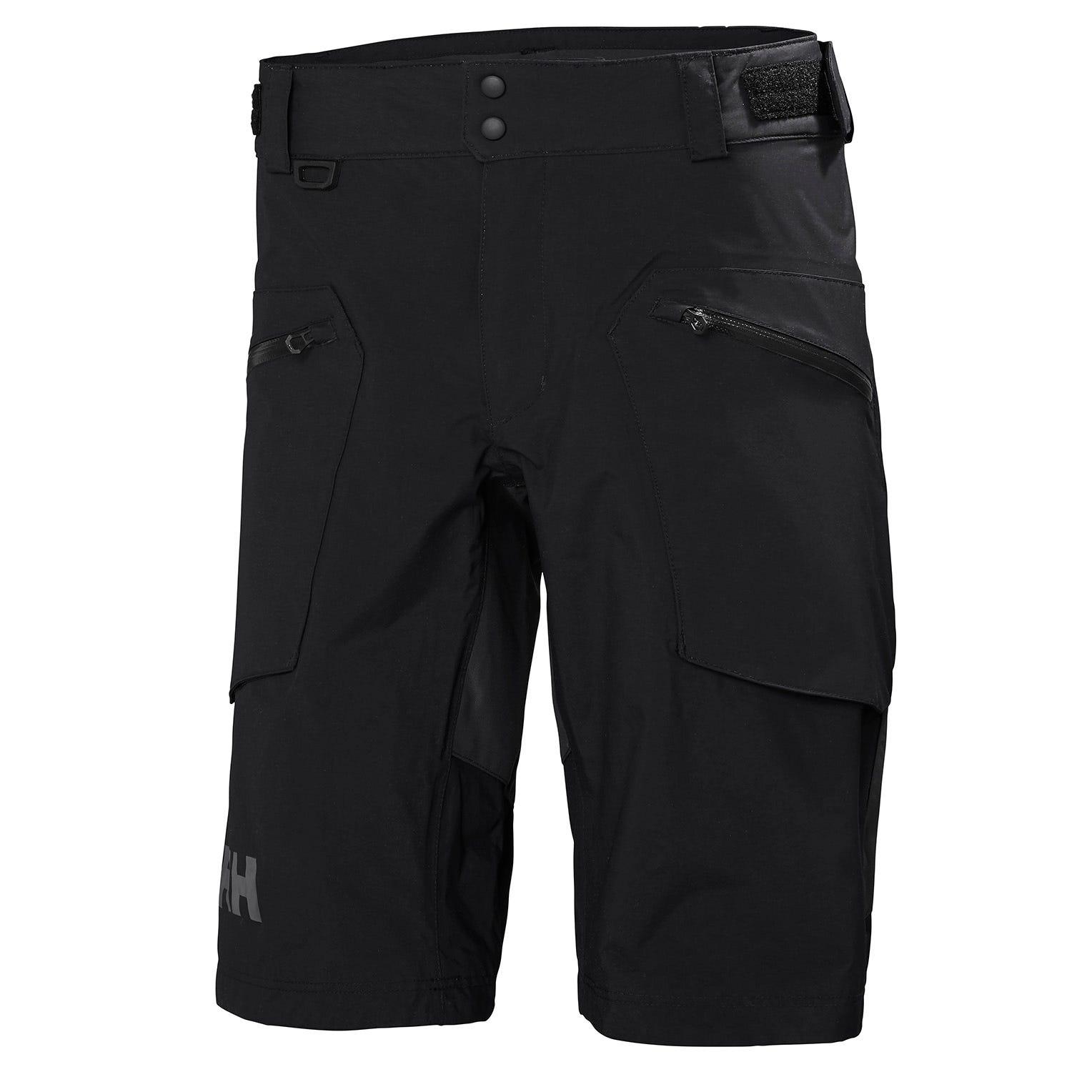 Helly Hansen Mens Hp Foil Ht Shorts Sailing Trouser Black L