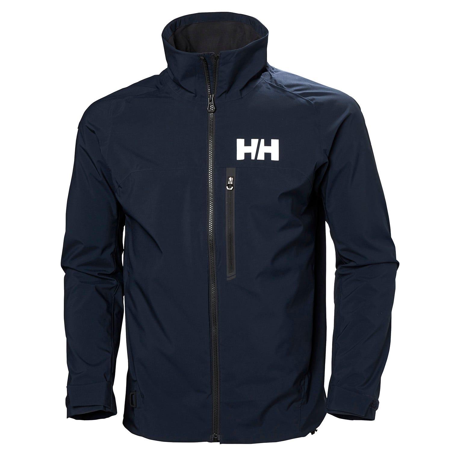 Helly Hansen Mens Sailing Jacket Navy L