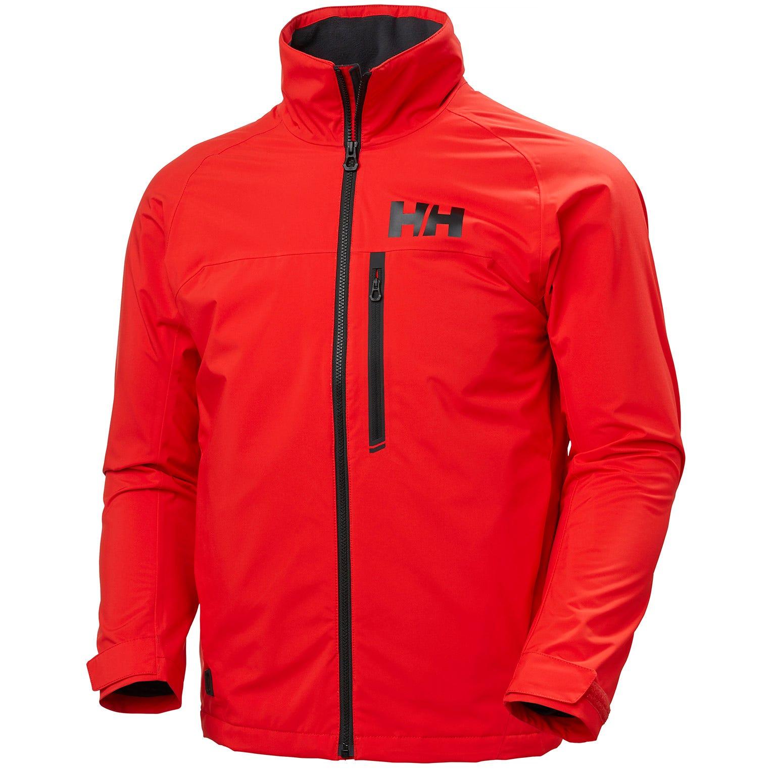Helly Hansen Hp Racing Midlayer Jacket Mens Sailing Red M