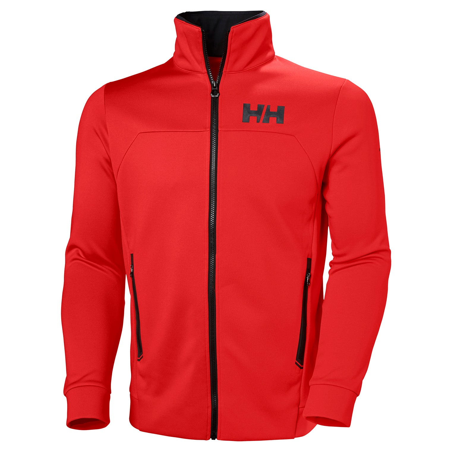 Helly Hansen Mens Hp Fleece Sailing Jacket Red XXL
