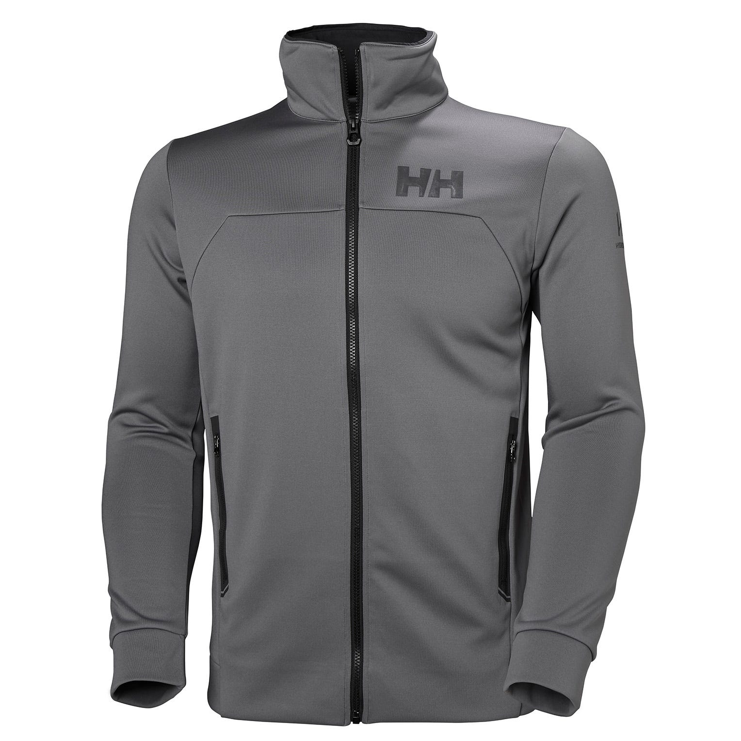 Helly Hansen Mens Hp Fleece Sailing Jacket Grey XXL