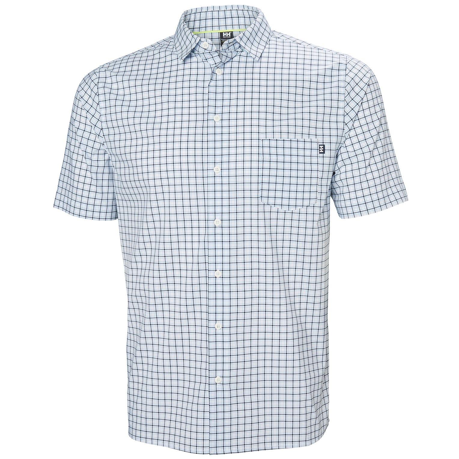 Helly Hansen Mens Fjord Qd Shirt White S