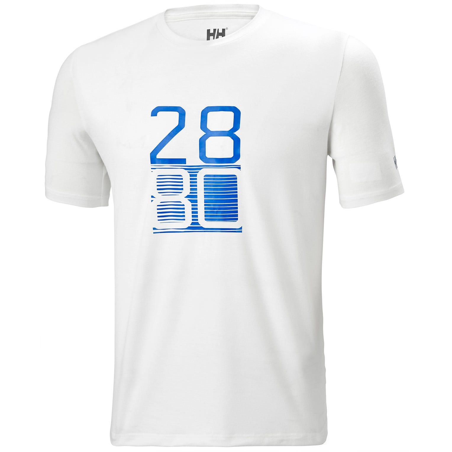 Mens Hp Sailing Racing Shirt | Helly Hansen Mens White M
