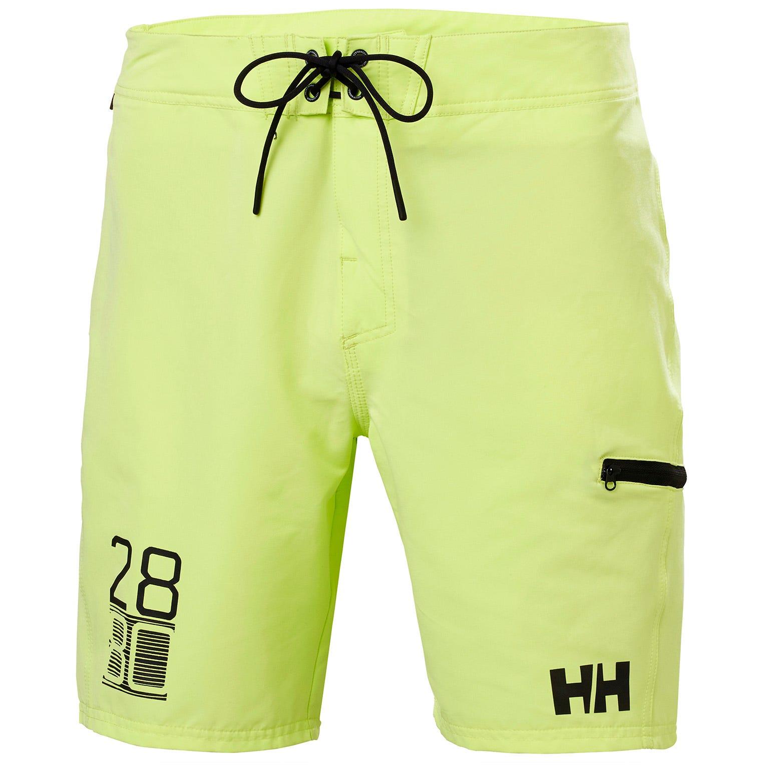 Helly Hansen Mens Hp 9 Quick-dry Board Shorts Green 33