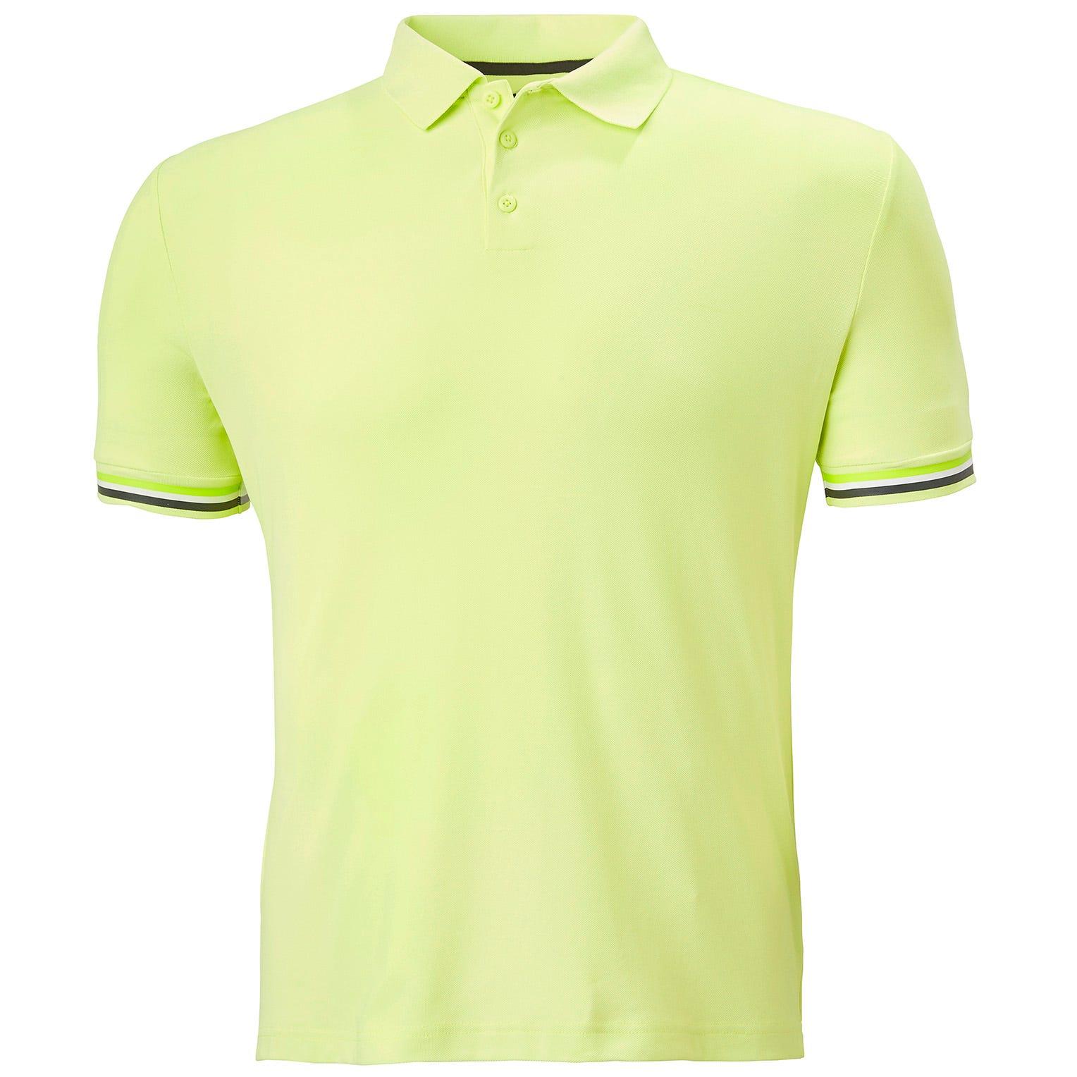Helly Hansen Mens Hp Code Zero Technical Polo Shirt Green S