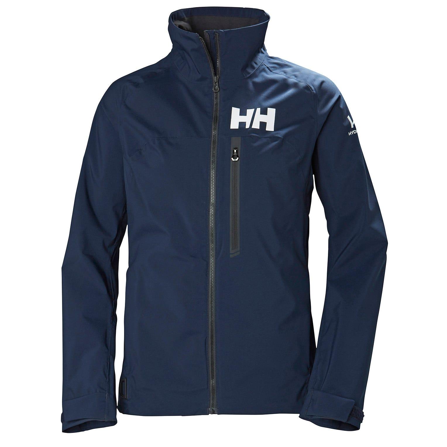 Helly Hansen Hp Shore Long Sleeve Polo Navy Xxl
