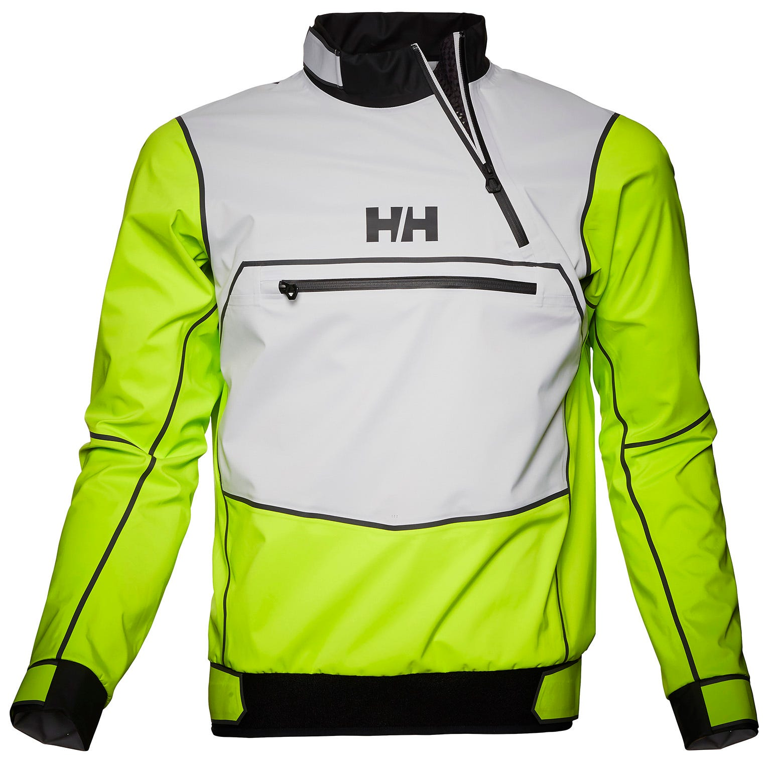 Helly Hansen Mens Hp Foil Pro Smock Top Sailing Jacket Green XL