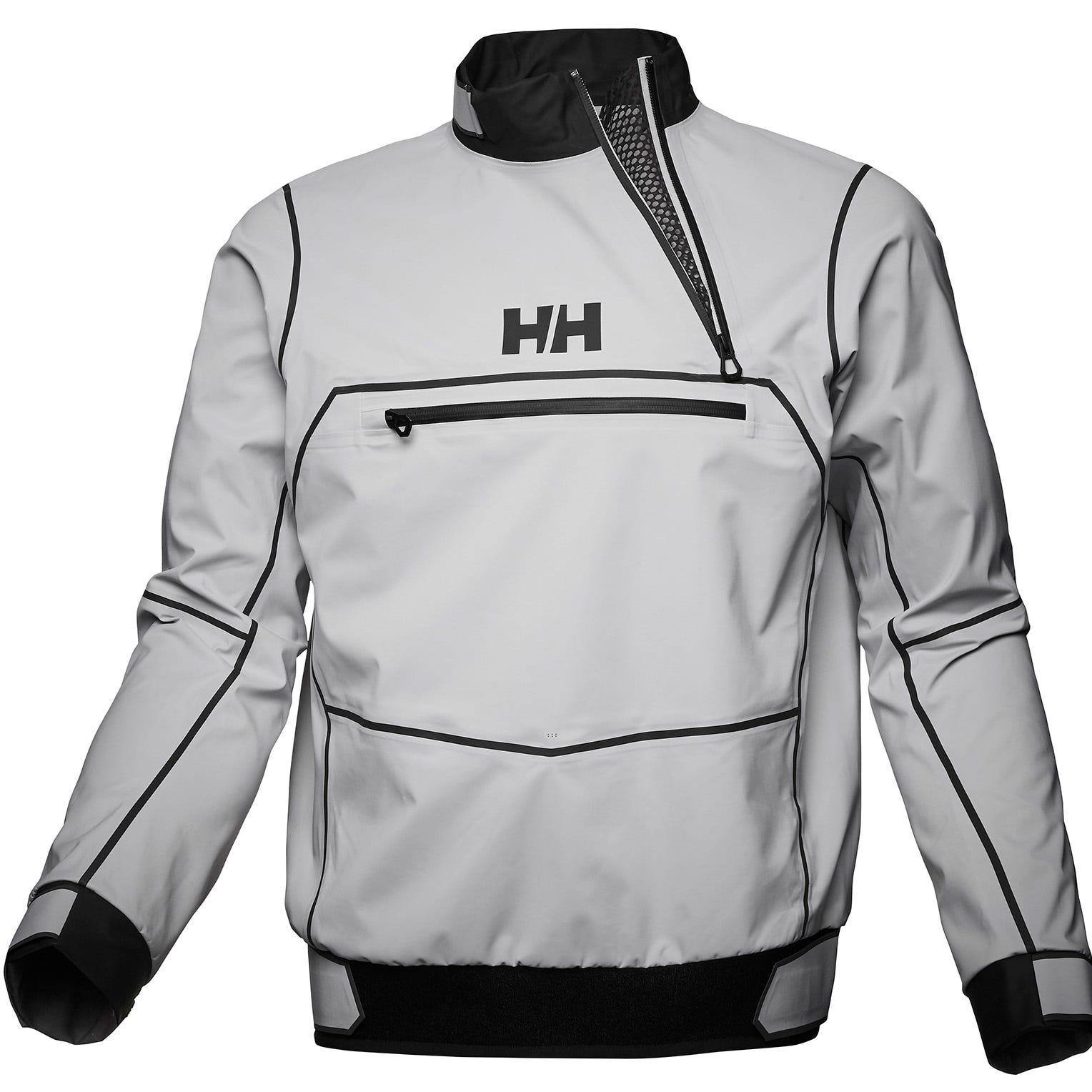 Helly Hansen Crew Windbreaker Jacket Grey Xxl