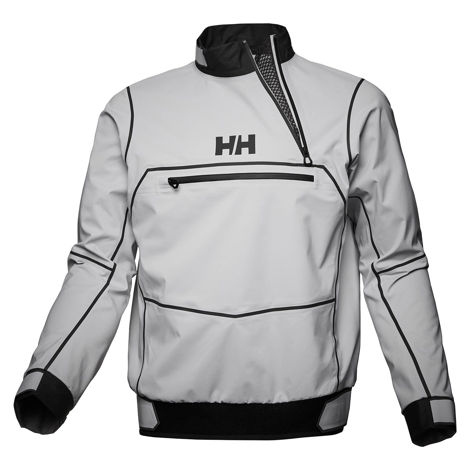 Helly Hansen Mens Hp Foil Pro Smock Top Sailing Jacket Grey XXL