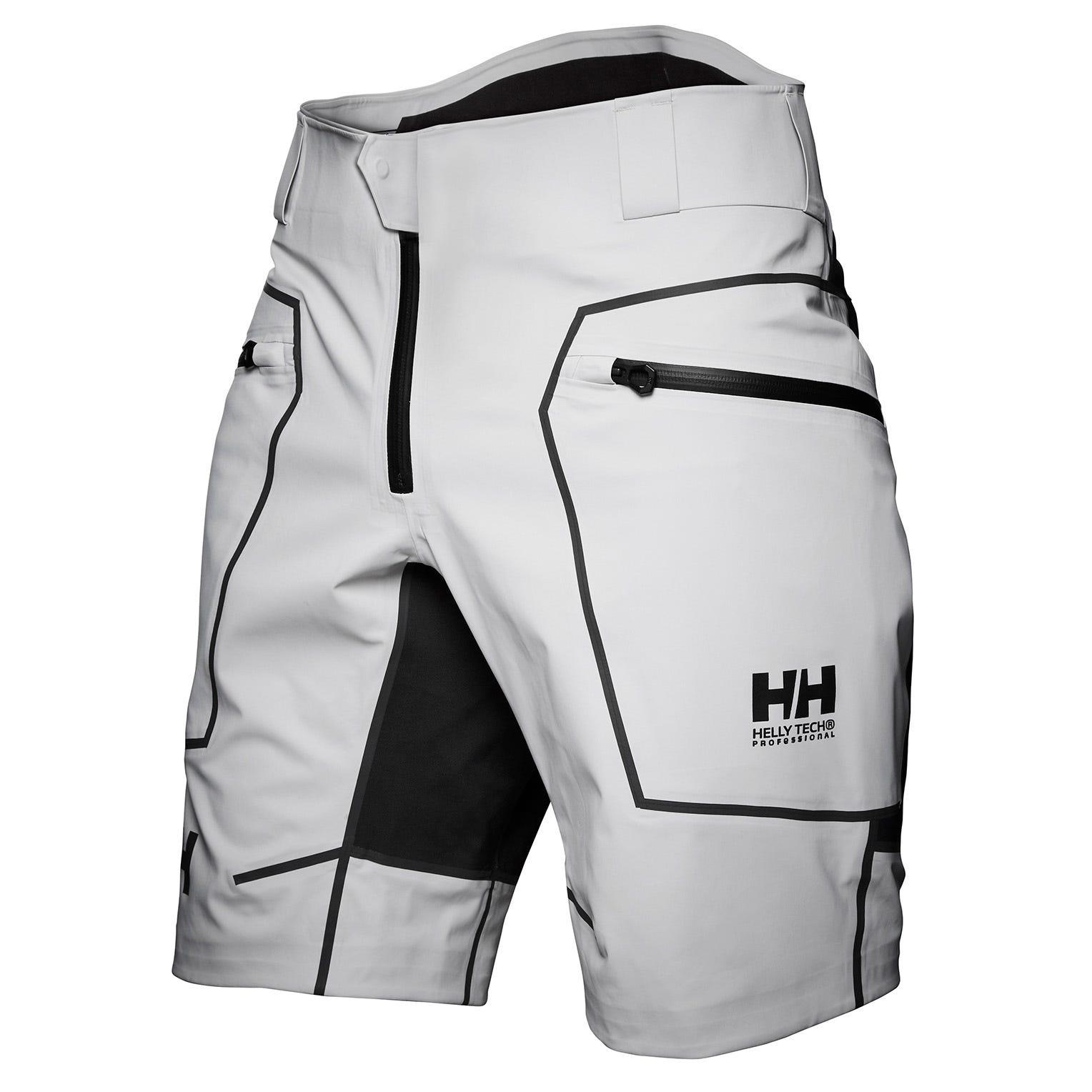 Helly Hansen Mens Hp Foil Pro Shorts Sailing Trouser Grey L