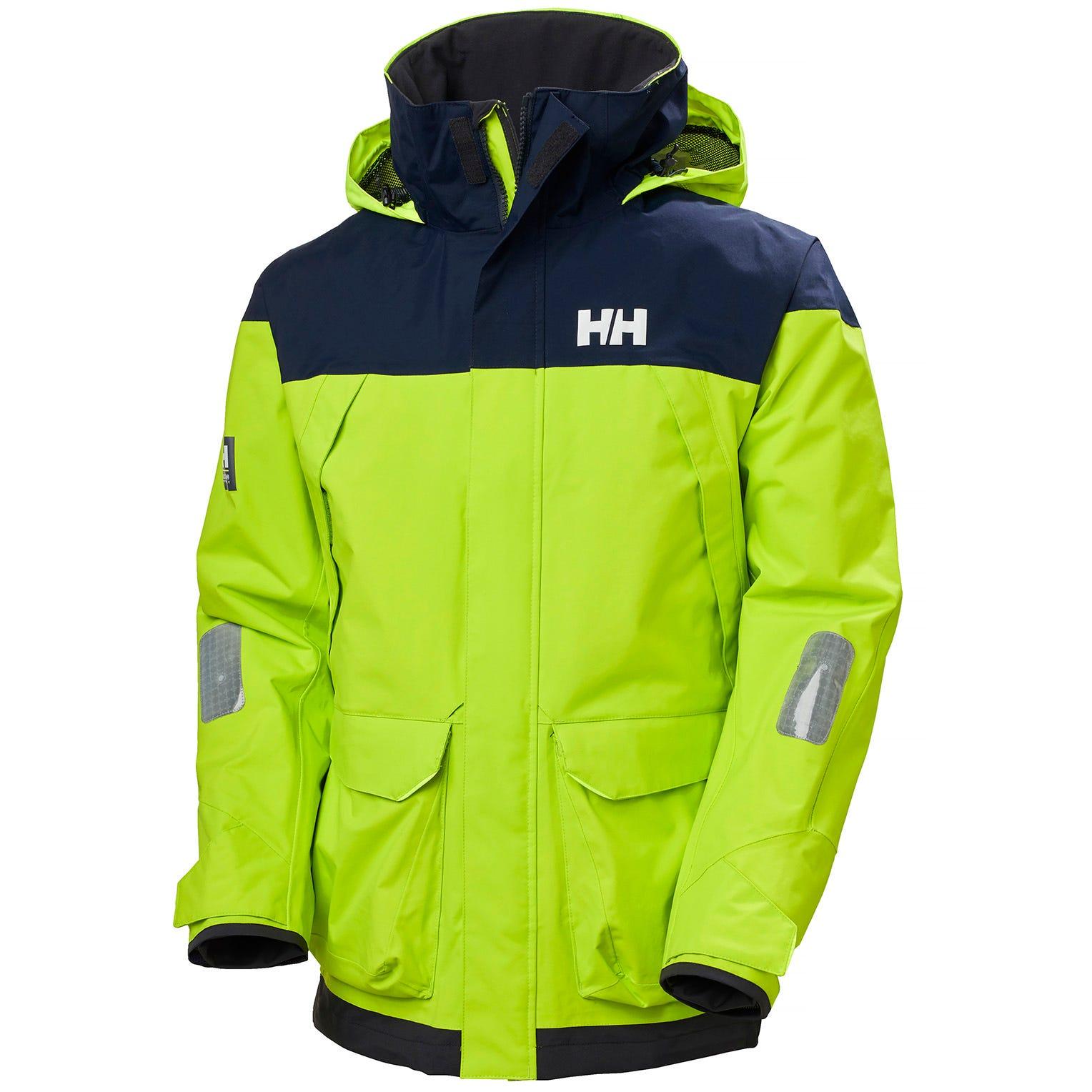 Helly Hansen Mens Pier 3.0 Coastal Sailing Jacket Green S