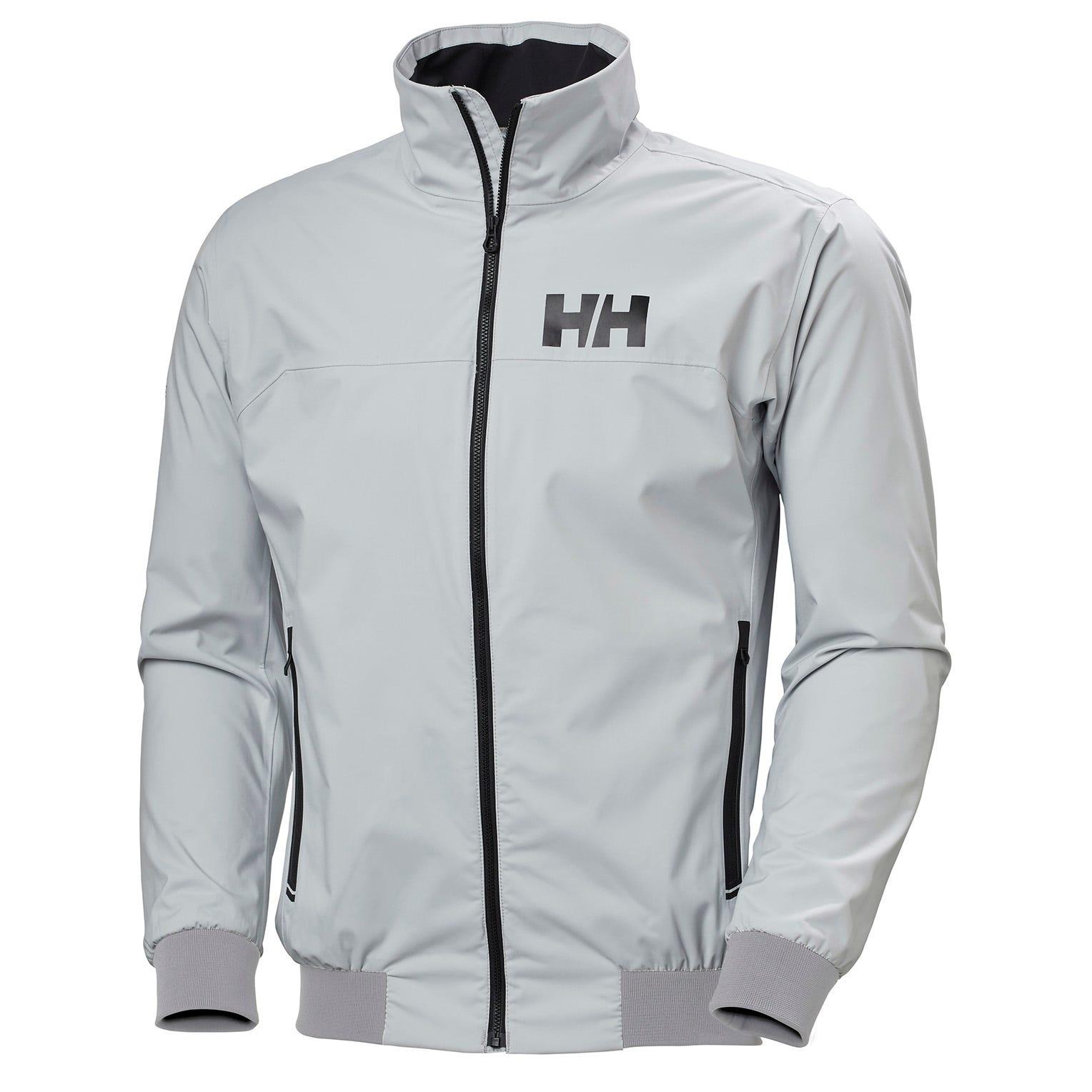 Helly Hansen Mens Hp Racing Lighweight Wind Jacket Grey XXL