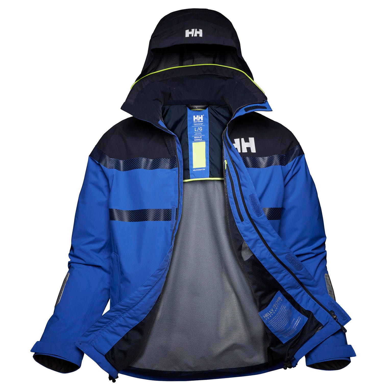 Helly Hansen Saltro Jacket Mens Sailing Blue XXL