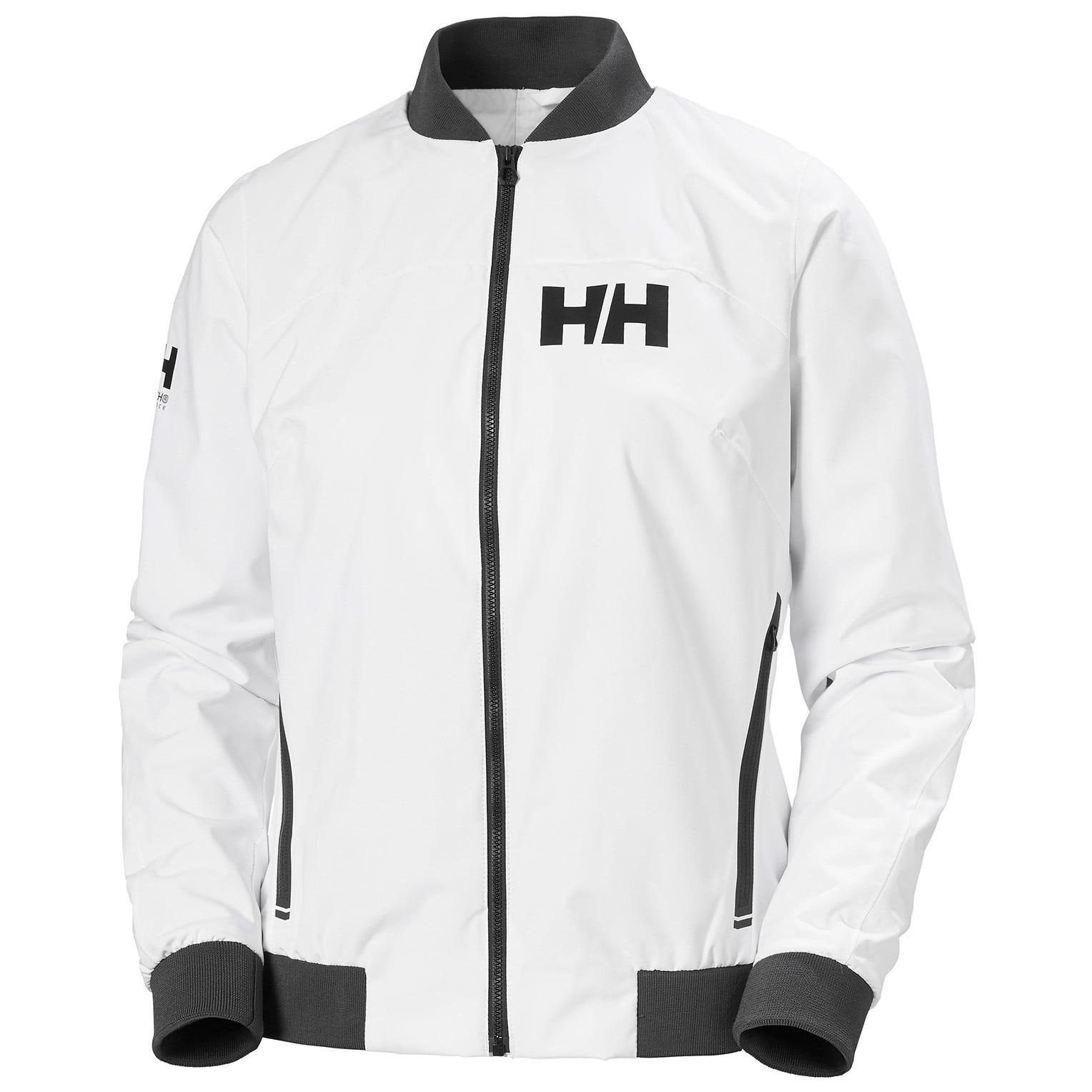 Helly Hansen W Hp Racing Wind Jacket Womens Sailing White M