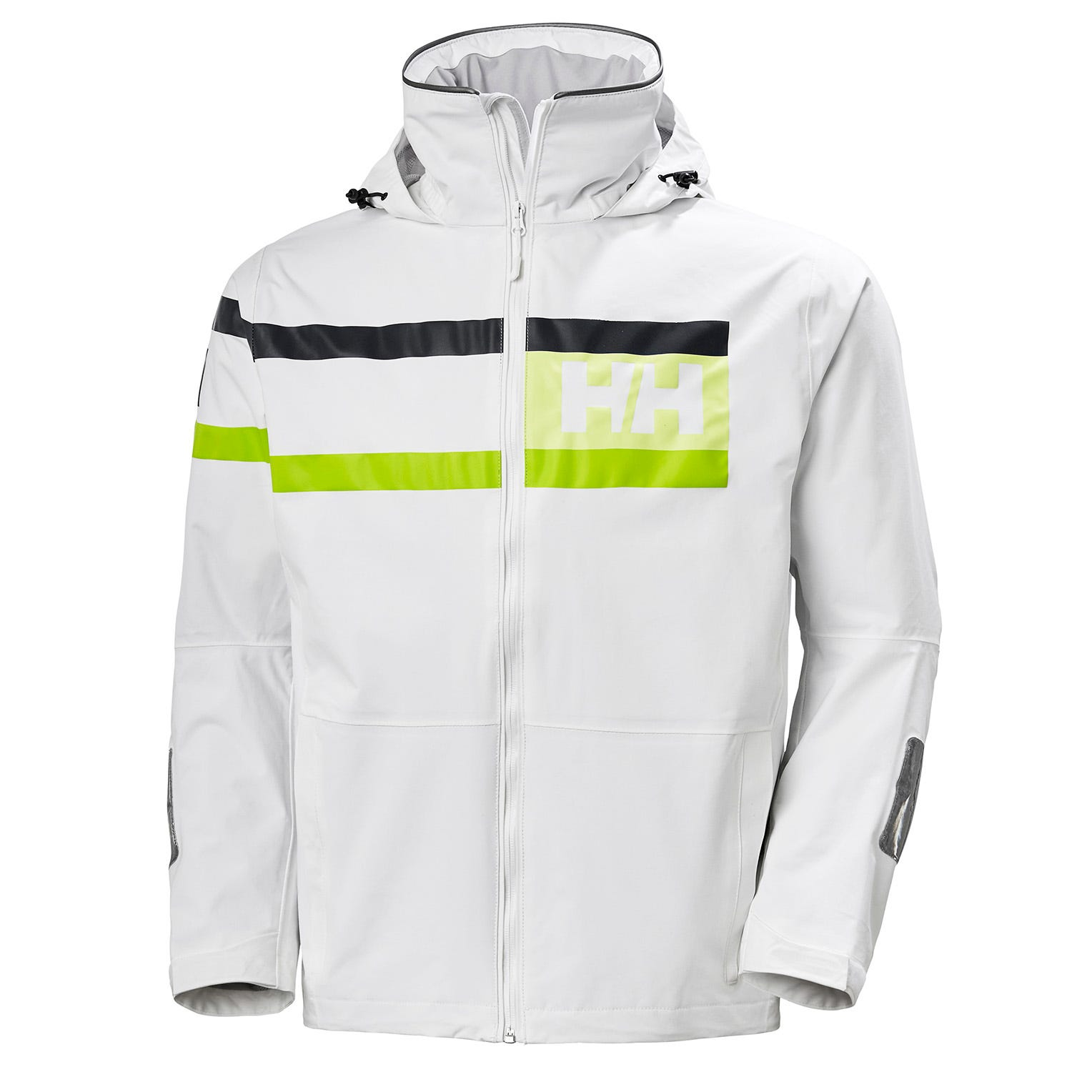 Helly Hansen Mens Salt Power Sailing Jacket White M