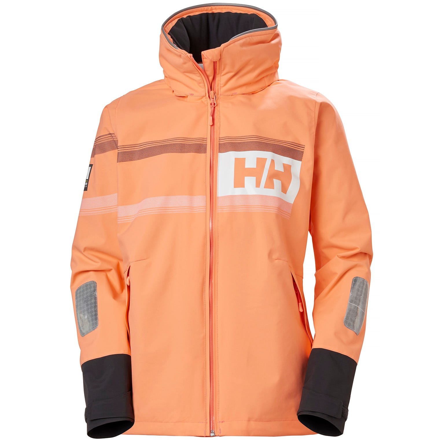 Helly Hansen Womens Salt Power Sailing Jacket Orange L
